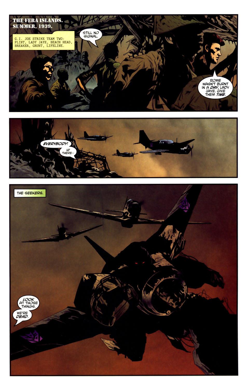 Read online Transformers/G.I. Joe comic -  Issue #3 - 3
