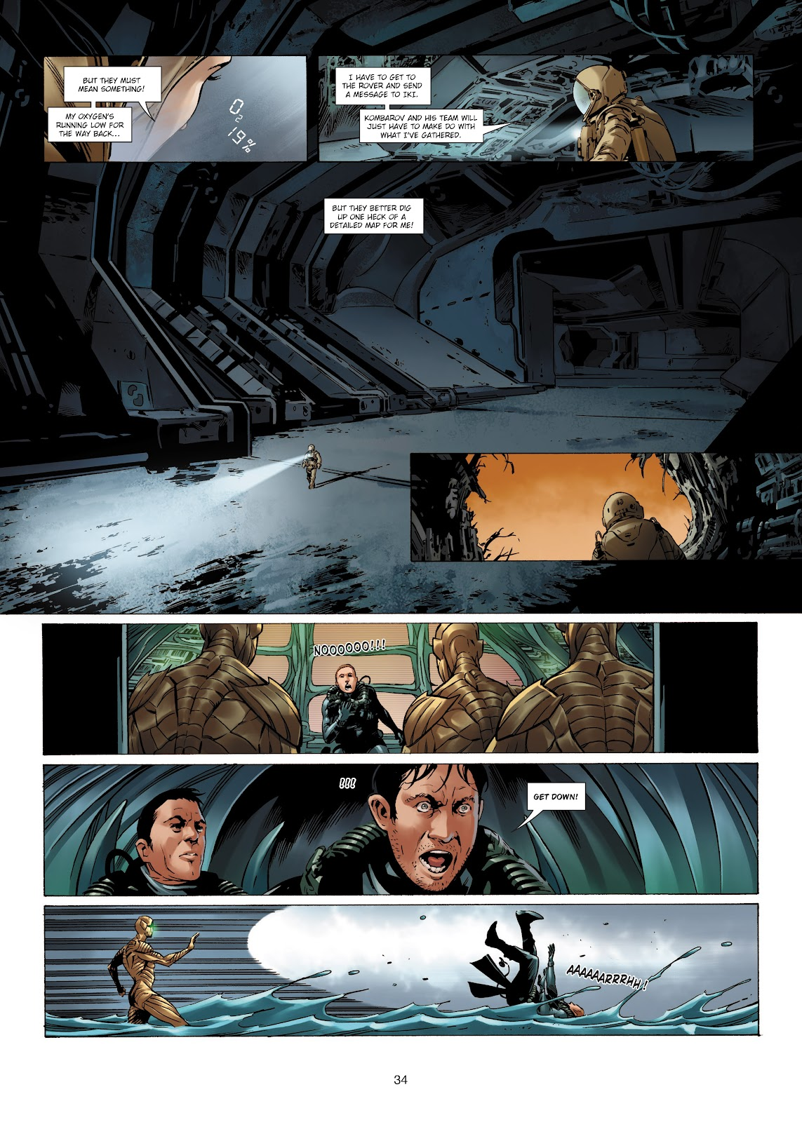 Read online Olympus Mons Vol. 1: Anomaly One comic -  Issue #4 - 32