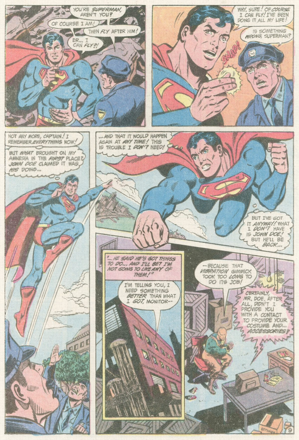 Read online Action Comics (1938) comic -  Issue #560 - 10