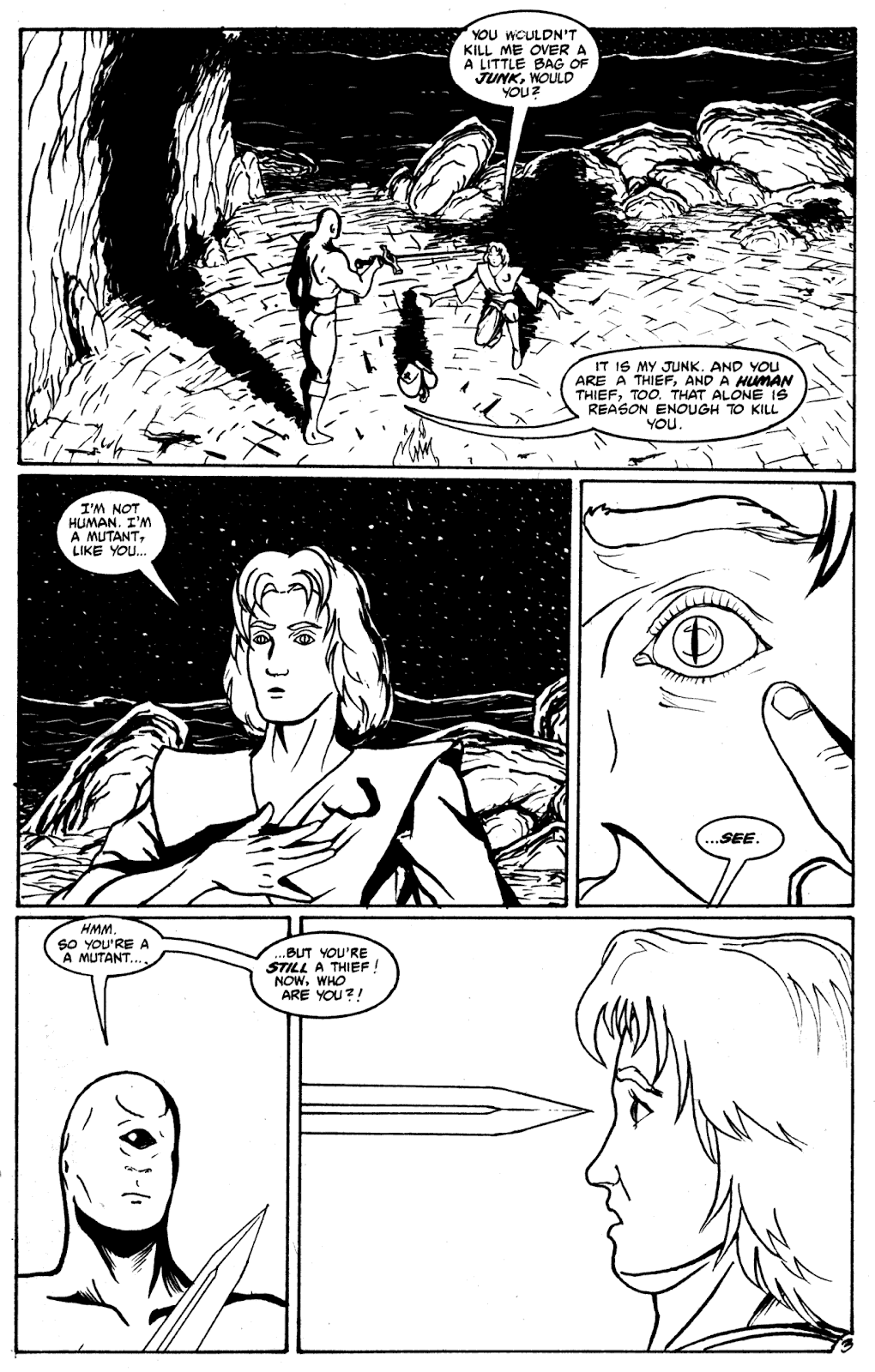 Shattered Earth issue 2 - Page 14