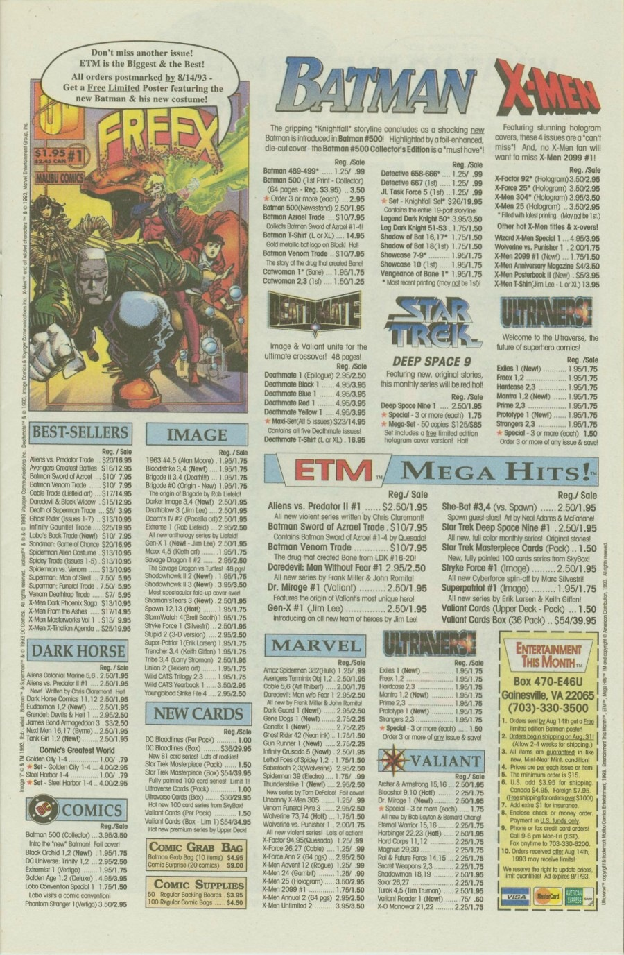 Read online Ex-Mutants comic -  Issue #8 - 11