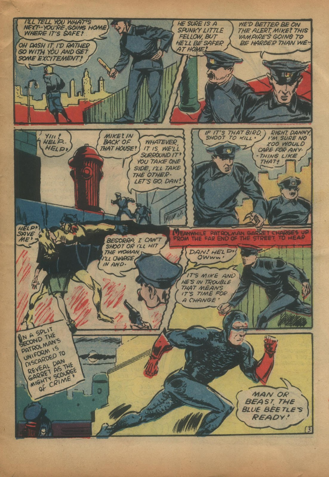 The Blue Beetle issue 15 - Page 55