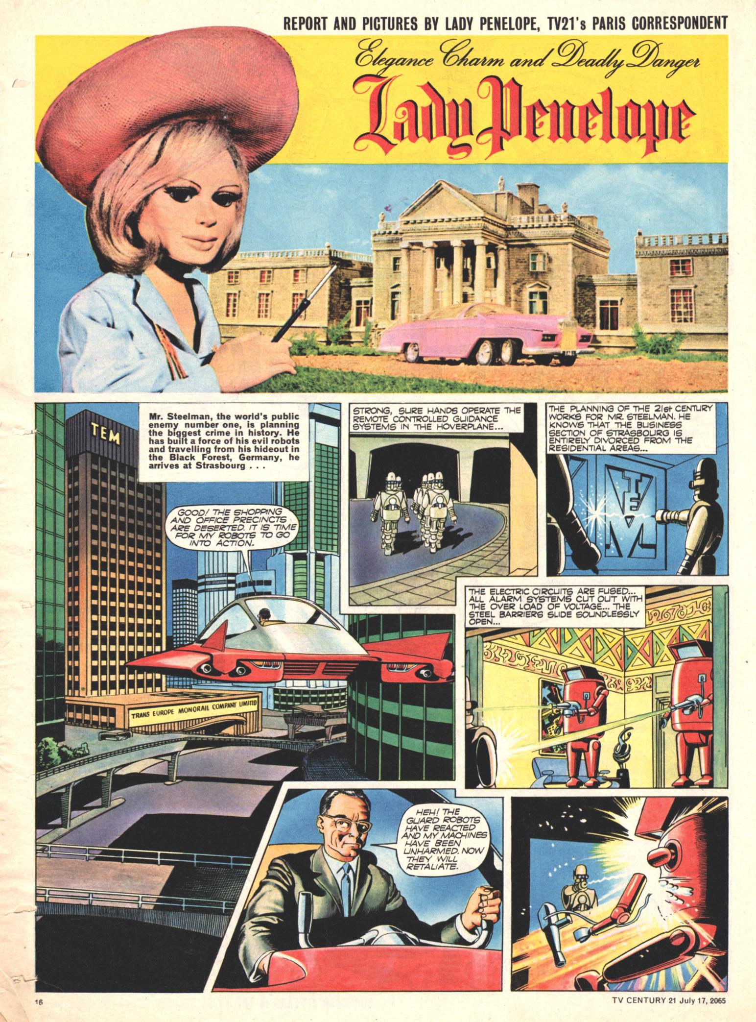 Read online TV Century 21 (TV 21) comic -  Issue #26 - 15