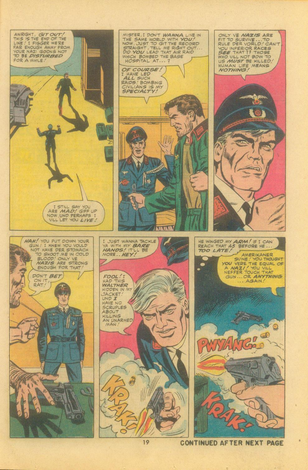 Read online Sgt. Fury comic -  Issue #121 - 21
