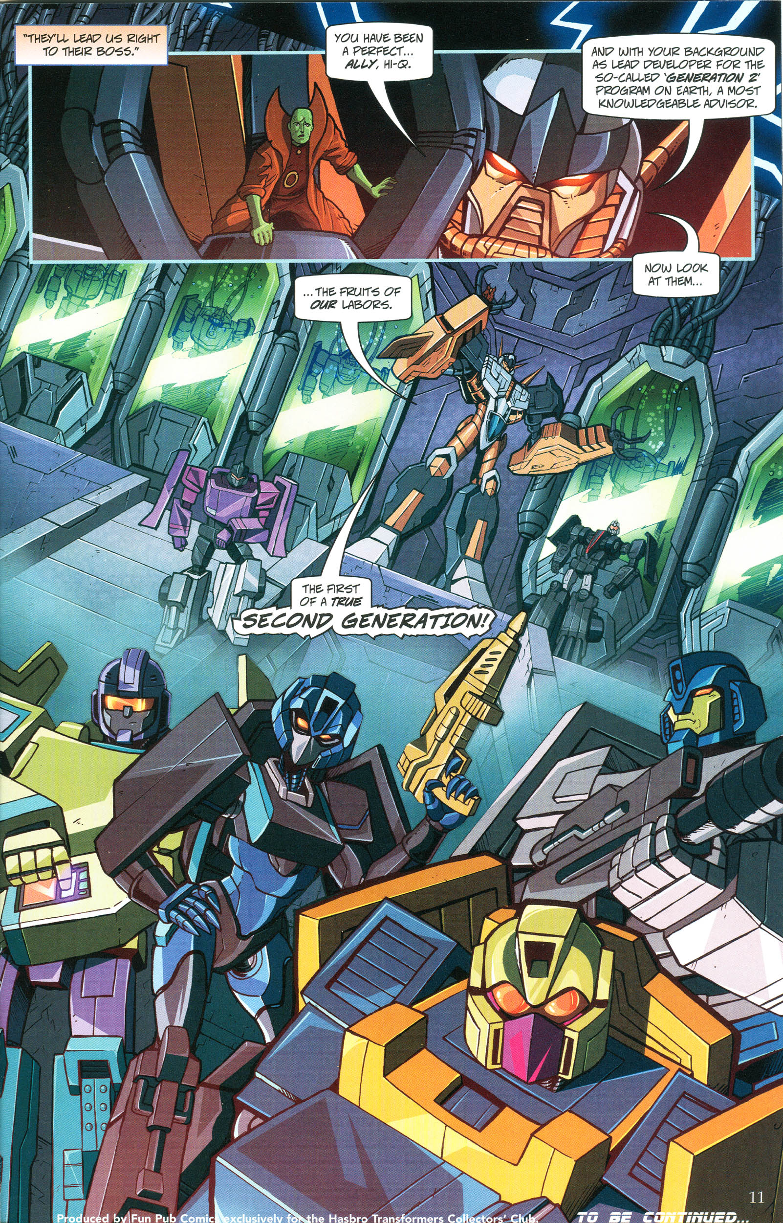 Read online Transformers: Collectors' Club comic -  Issue #45 - 11