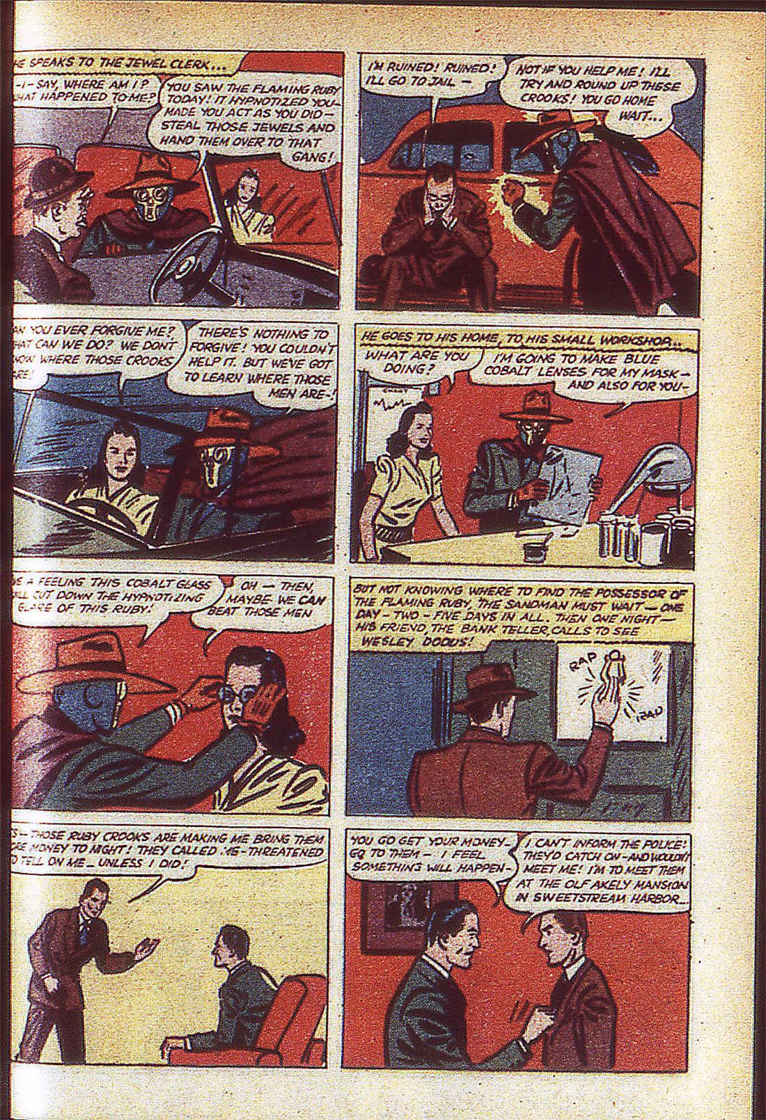 Read online Adventure Comics (1938) comic -  Issue #59 - 62