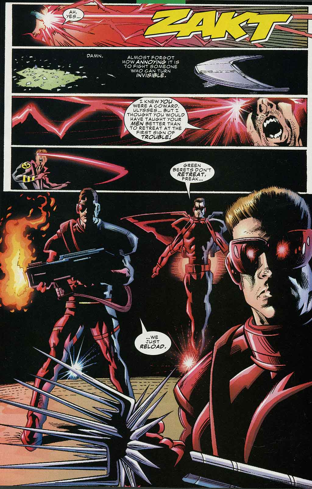 Read online Cyclops (2001) comic -  Issue #4 - 11