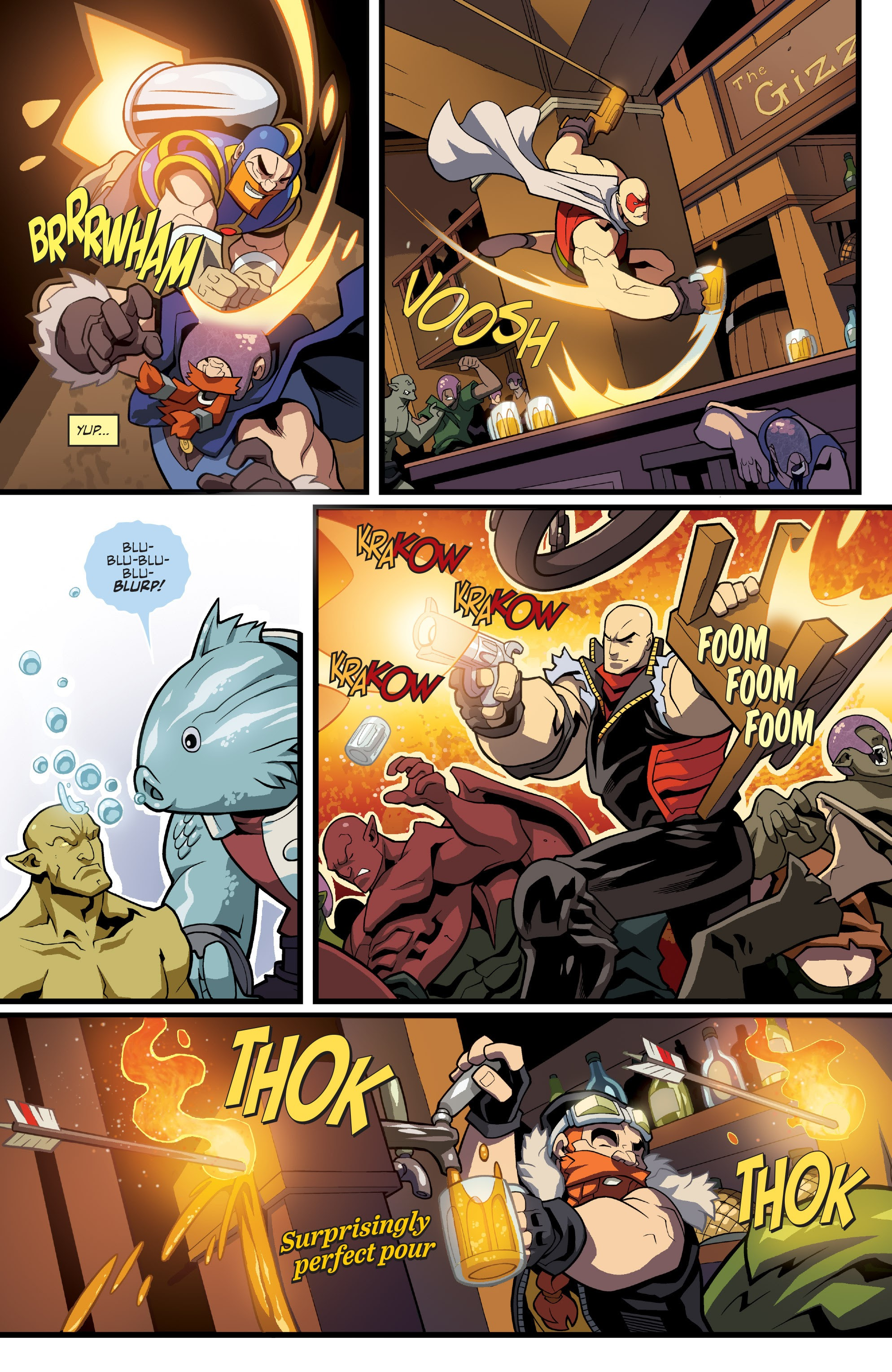 Read online Skullkickers comic -  Issue #33 - 13