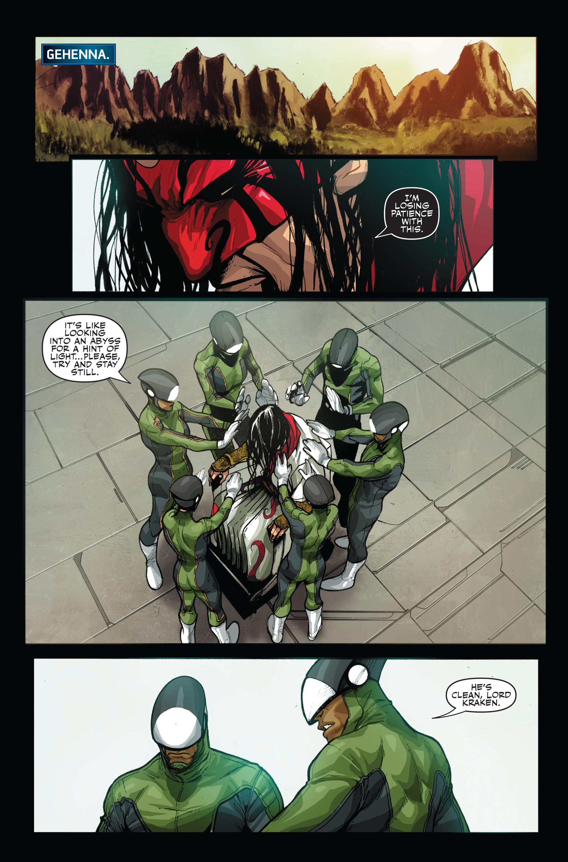 Read online Secret Warriors comic -  Issue #14 - 18