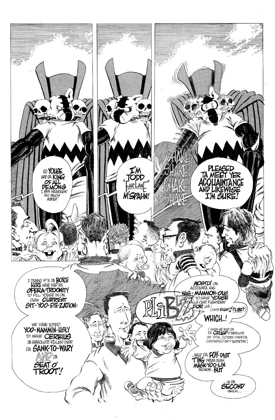 Cerebus Issue #276 #275 - English 14