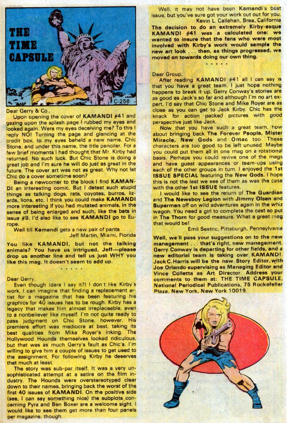 Kamandi, The Last Boy On Earth issue 46 - Page 18