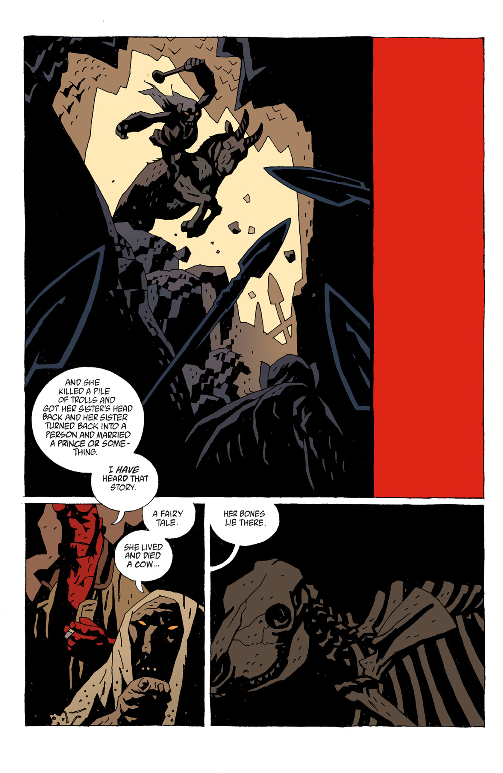 Read online Hellboy: The Troll Witch and Others comic -  Issue # TPB - 32