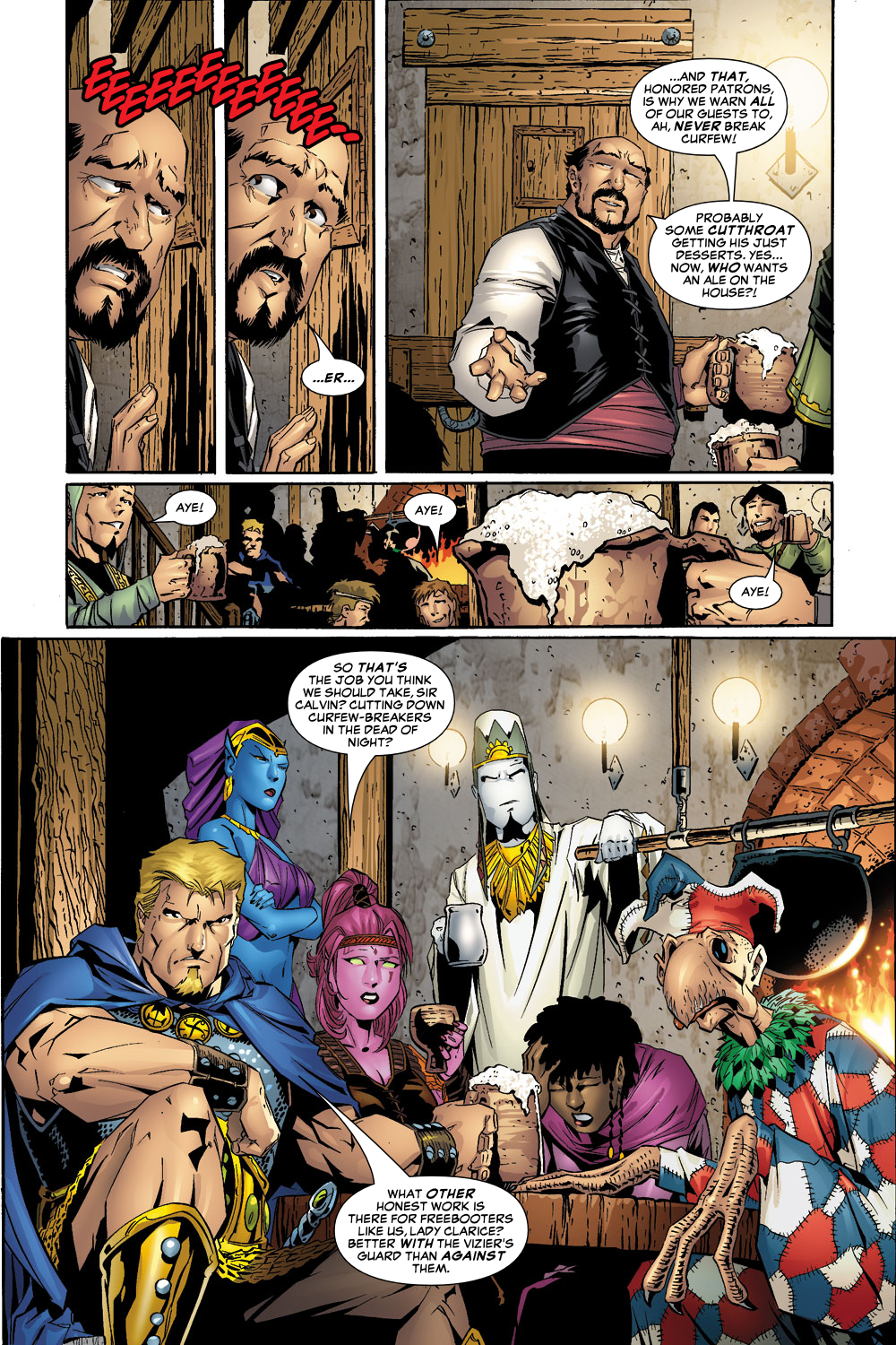Exiles (2001) Issue #55 #56 - English 6