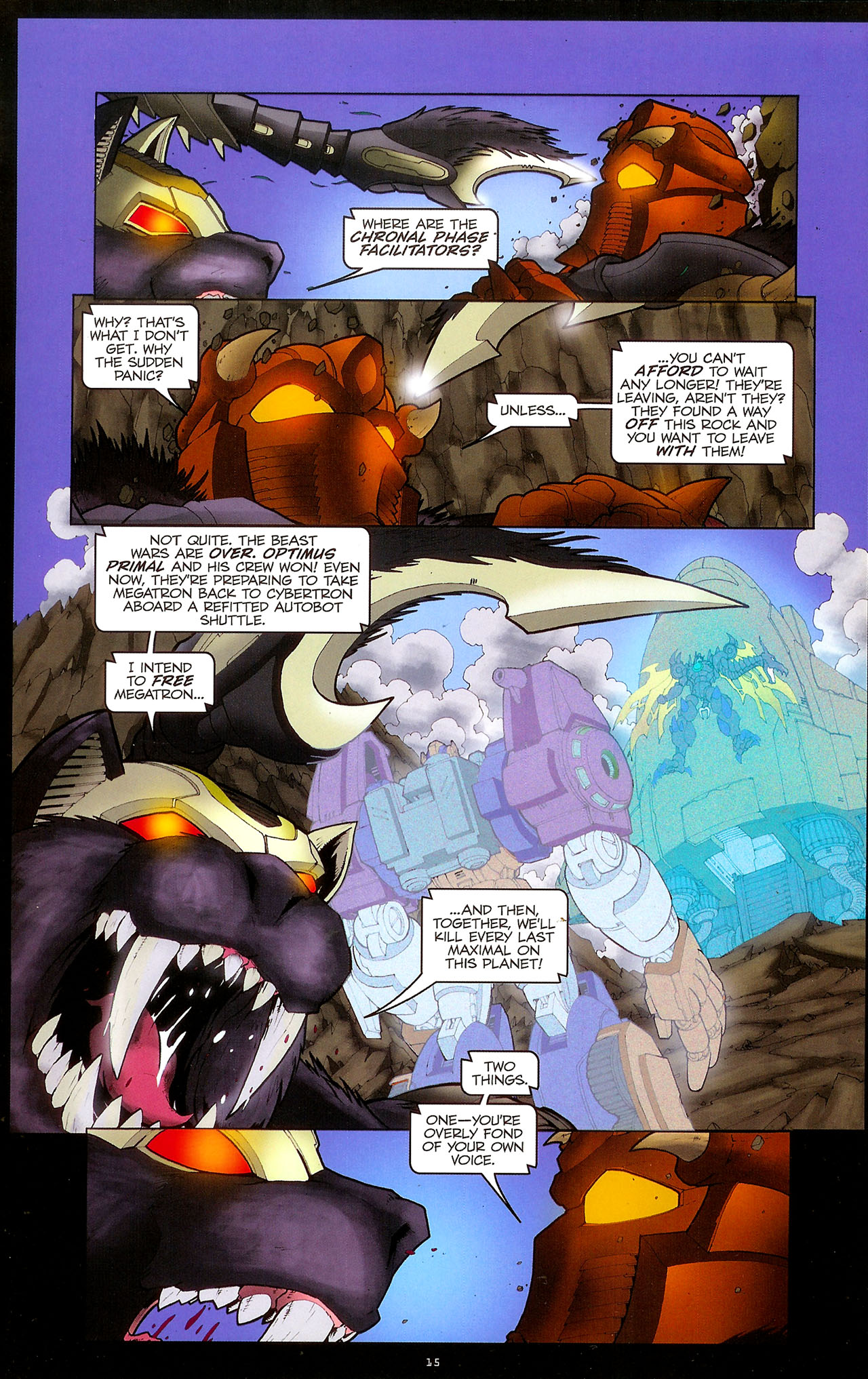 Read online Transformers: Beast Wars: The Ascending comic -  Issue #1 - 17