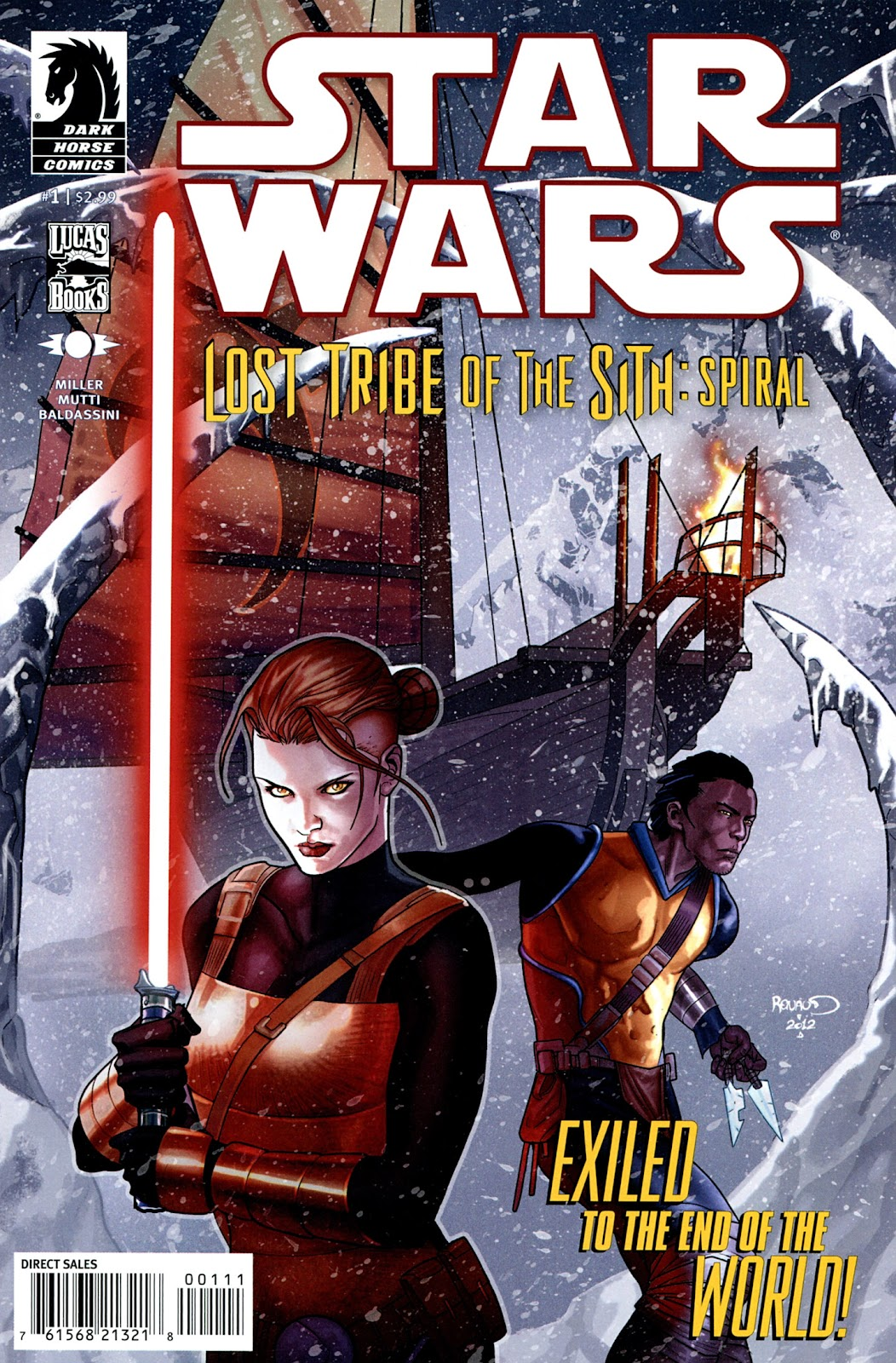 Star Wars: Lost Tribe of the Sith - Spiral 1 Page 1