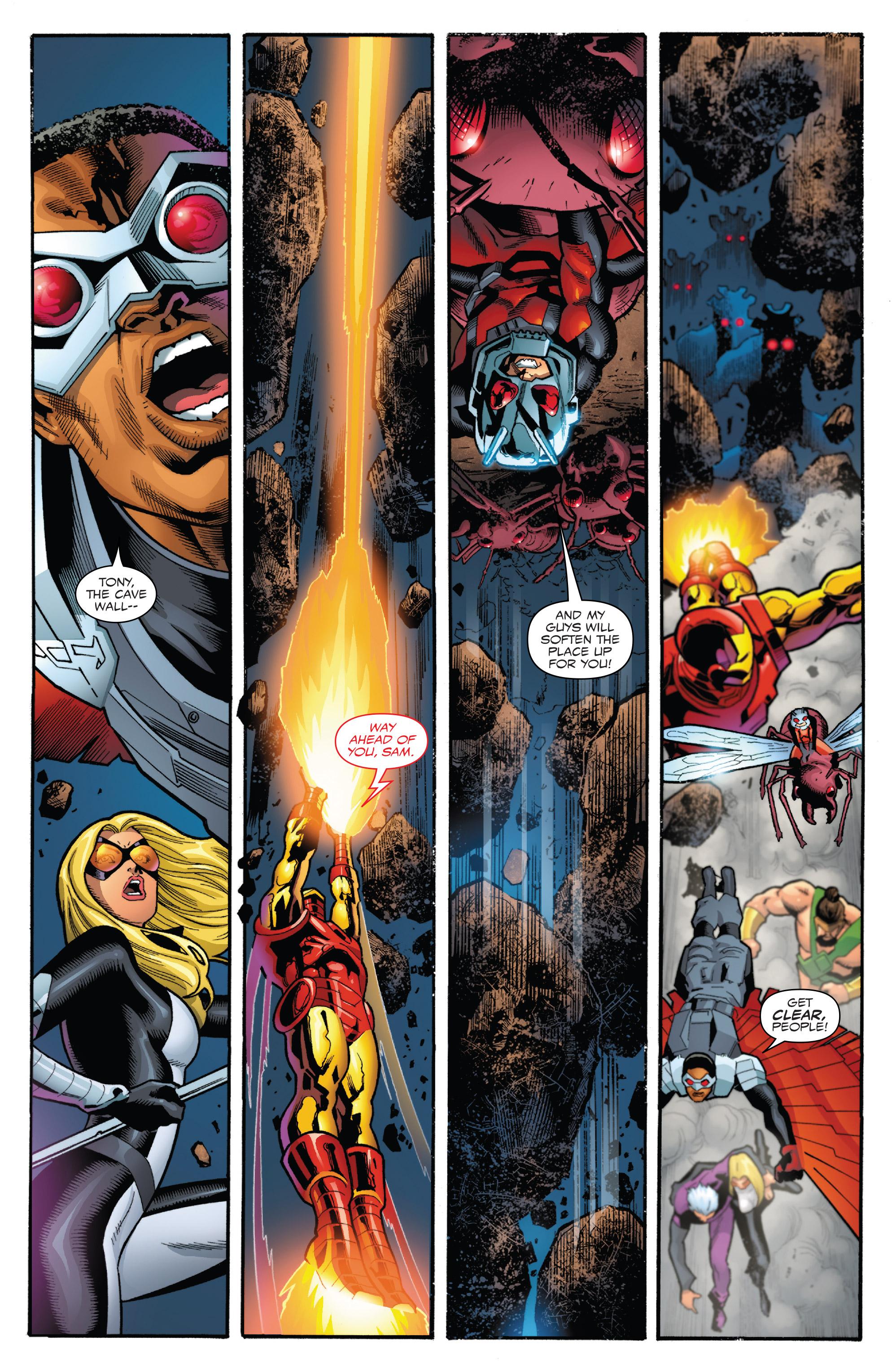 Read online Captain America: Sam Wilson comic -  Issue #23 - 17
