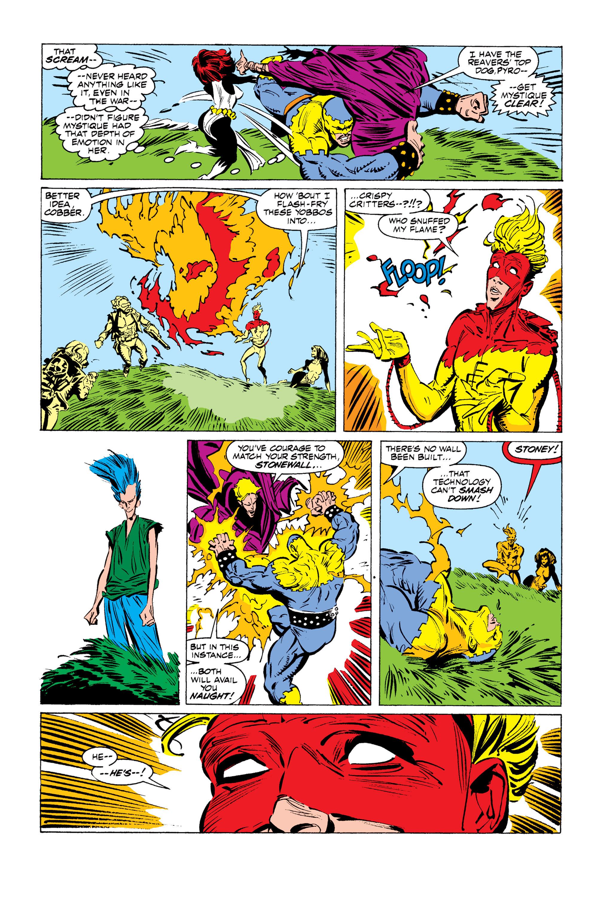 Read online Uncanny X-Men (1963) comic -  Issue #255 - 17