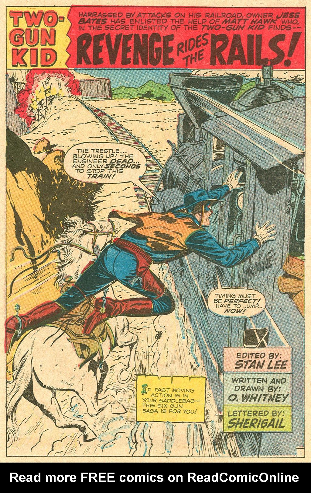 Read online Two-Gun Kid comic -  Issue #92 - 14