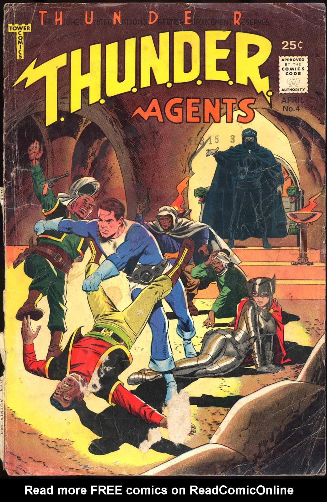 T.H.U.N.D.E.R. Agents (1965) 4 Page 1