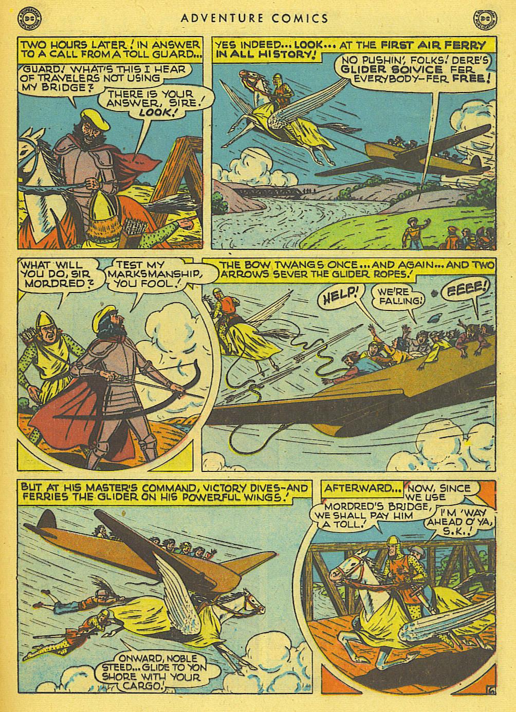 Read online Adventure Comics (1938) comic -  Issue #138 - 37