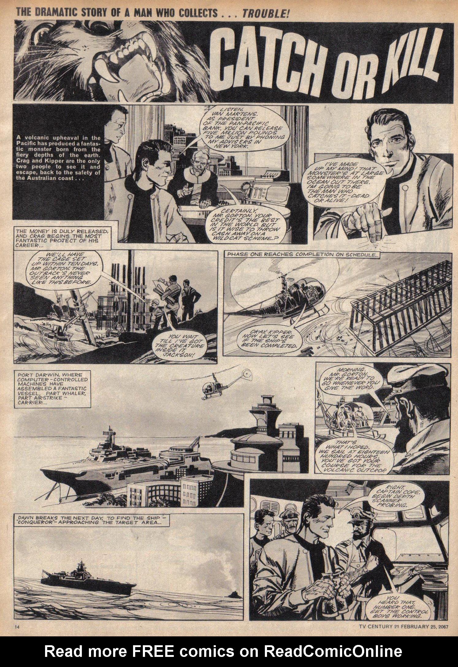 Read online TV Century 21 (TV 21) comic -  Issue #110 - 13