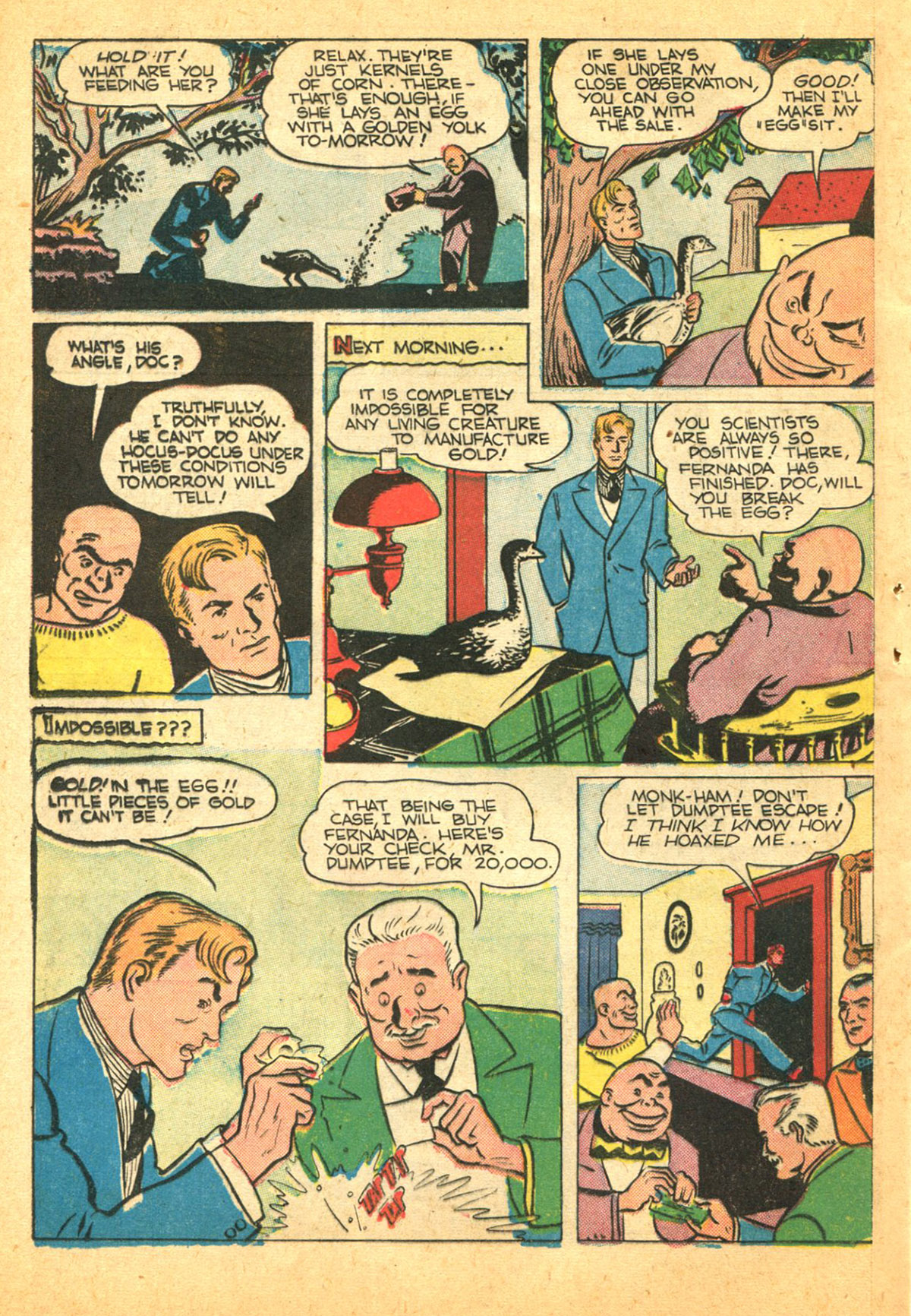 Read online Shadow Comics comic -  Issue #38 - 42