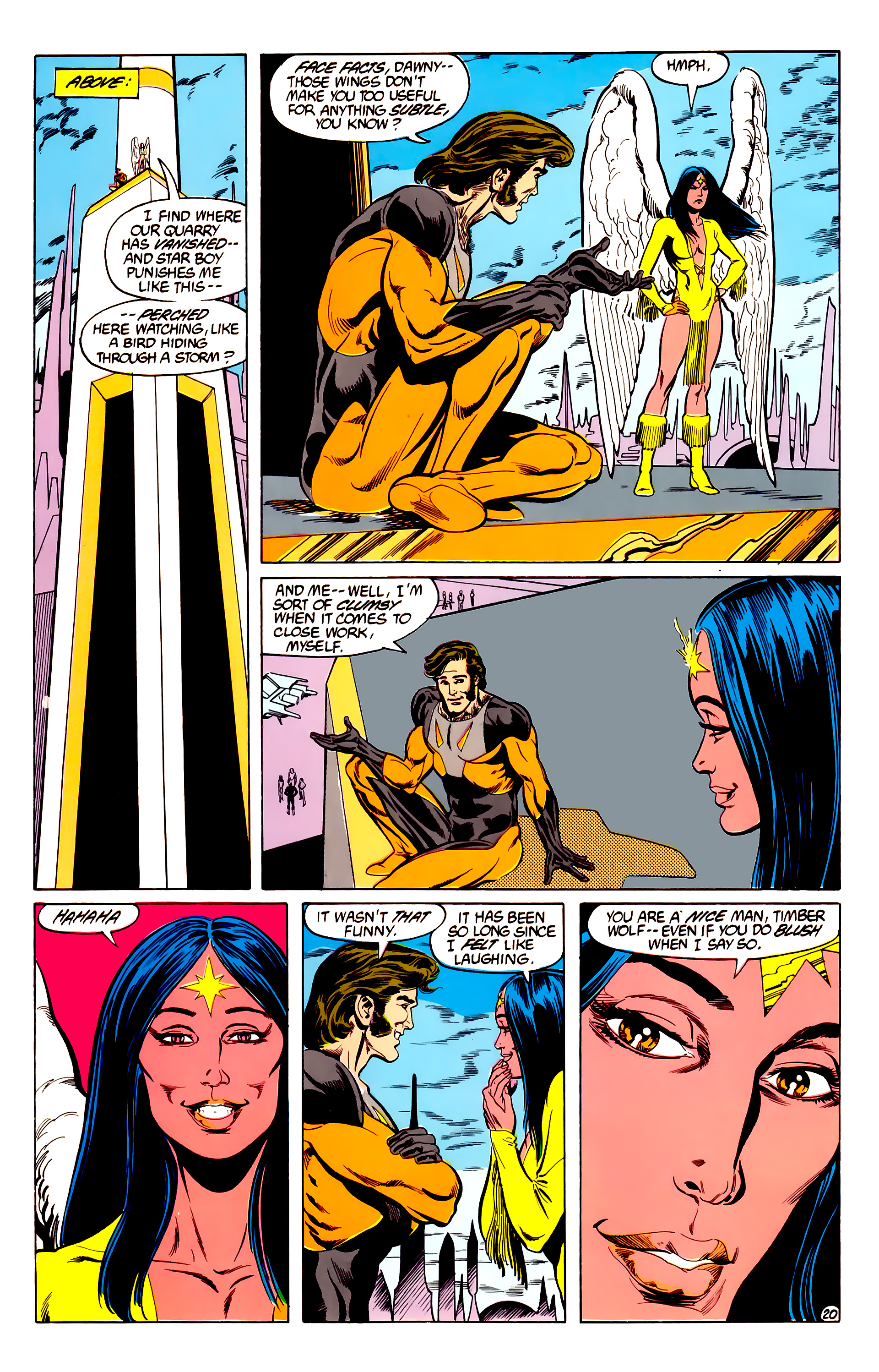 Legion of Super-Heroes (1984) 28 Page 21