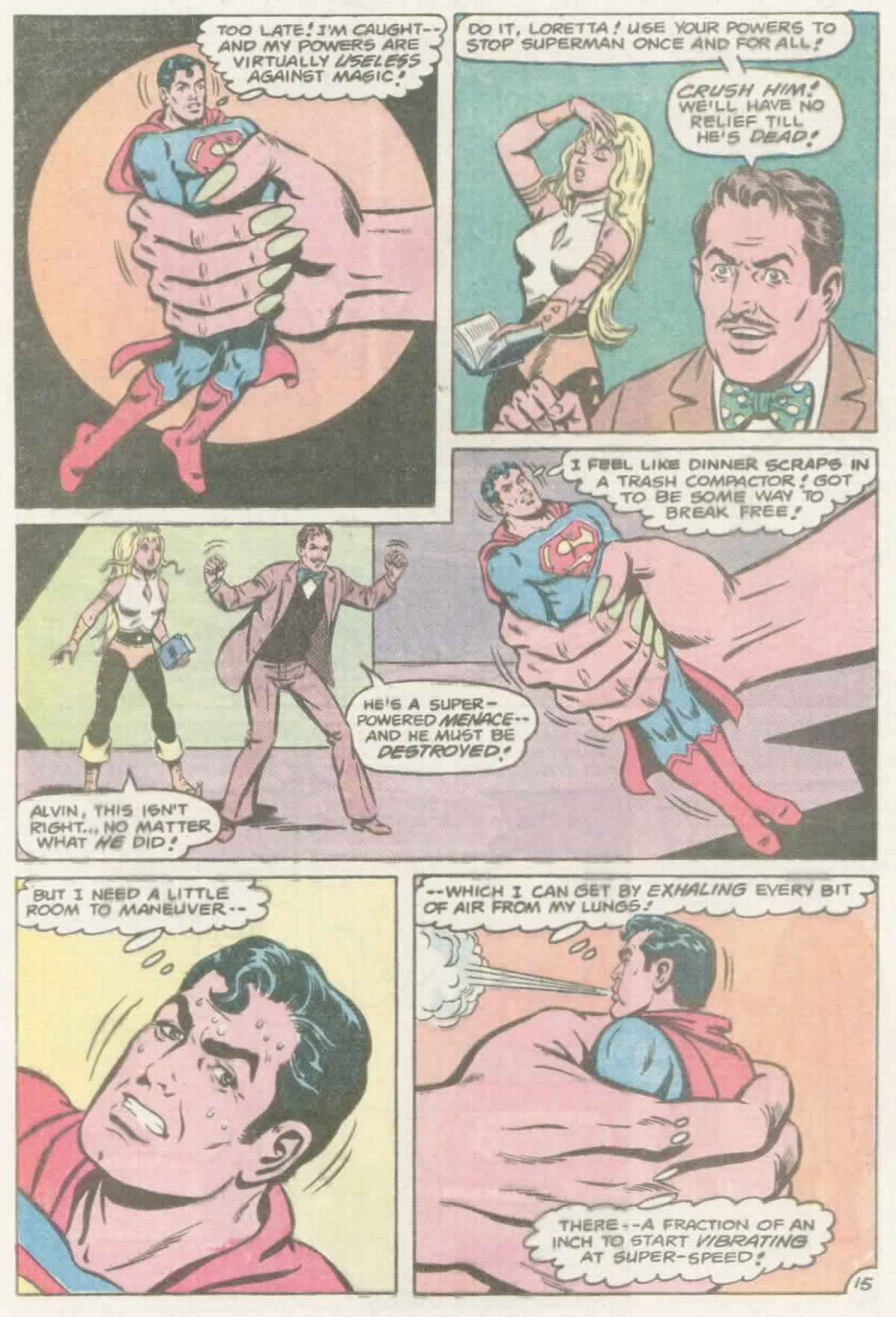Read online Action Comics (1938) comic -  Issue #559 - 16