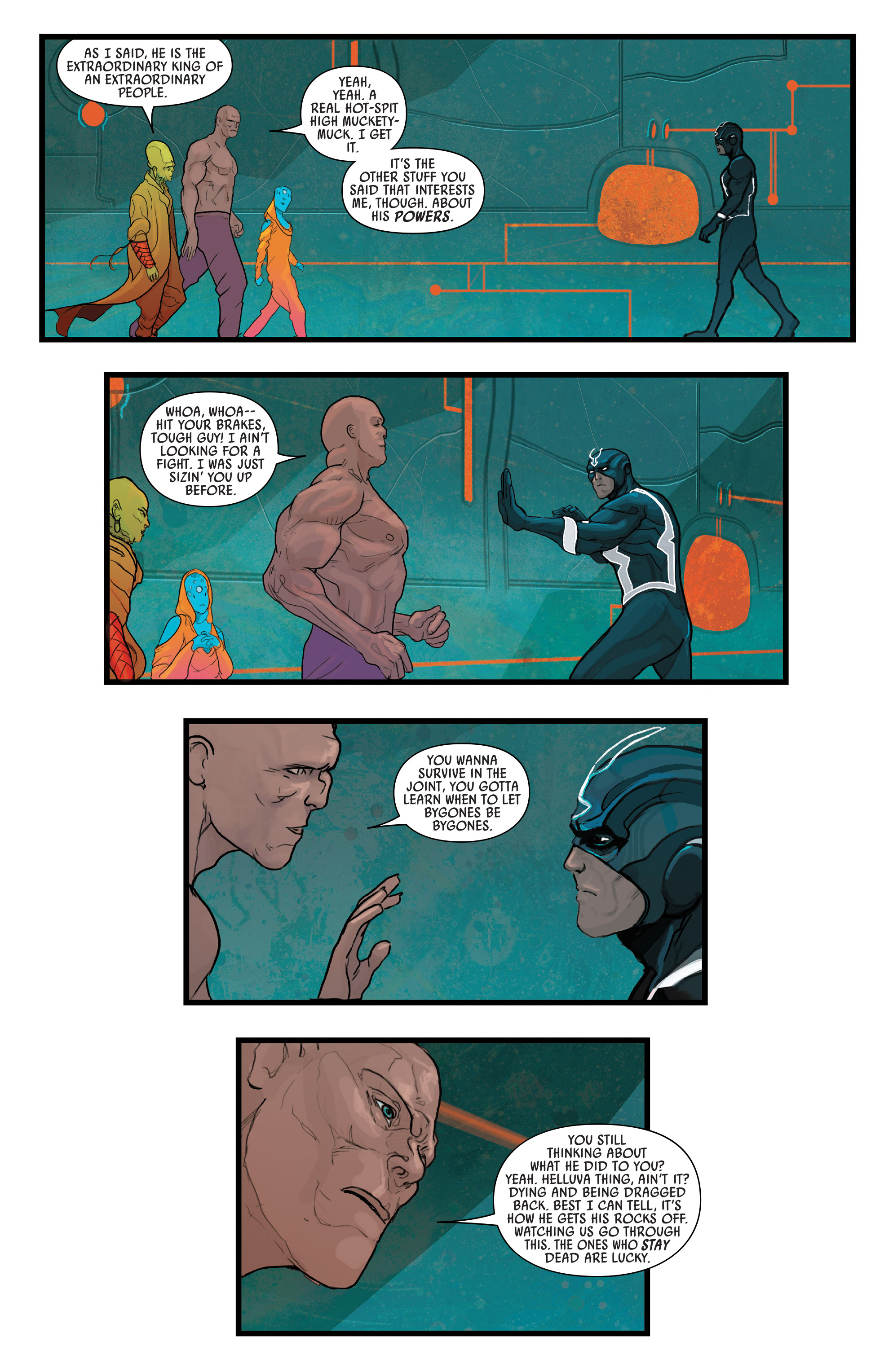 Read online Black Bolt comic -  Issue #2 - 6