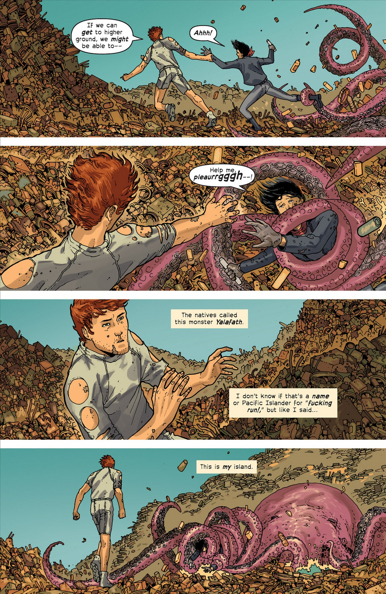 Read online Great Pacific comic -  Issue #4 - 4
