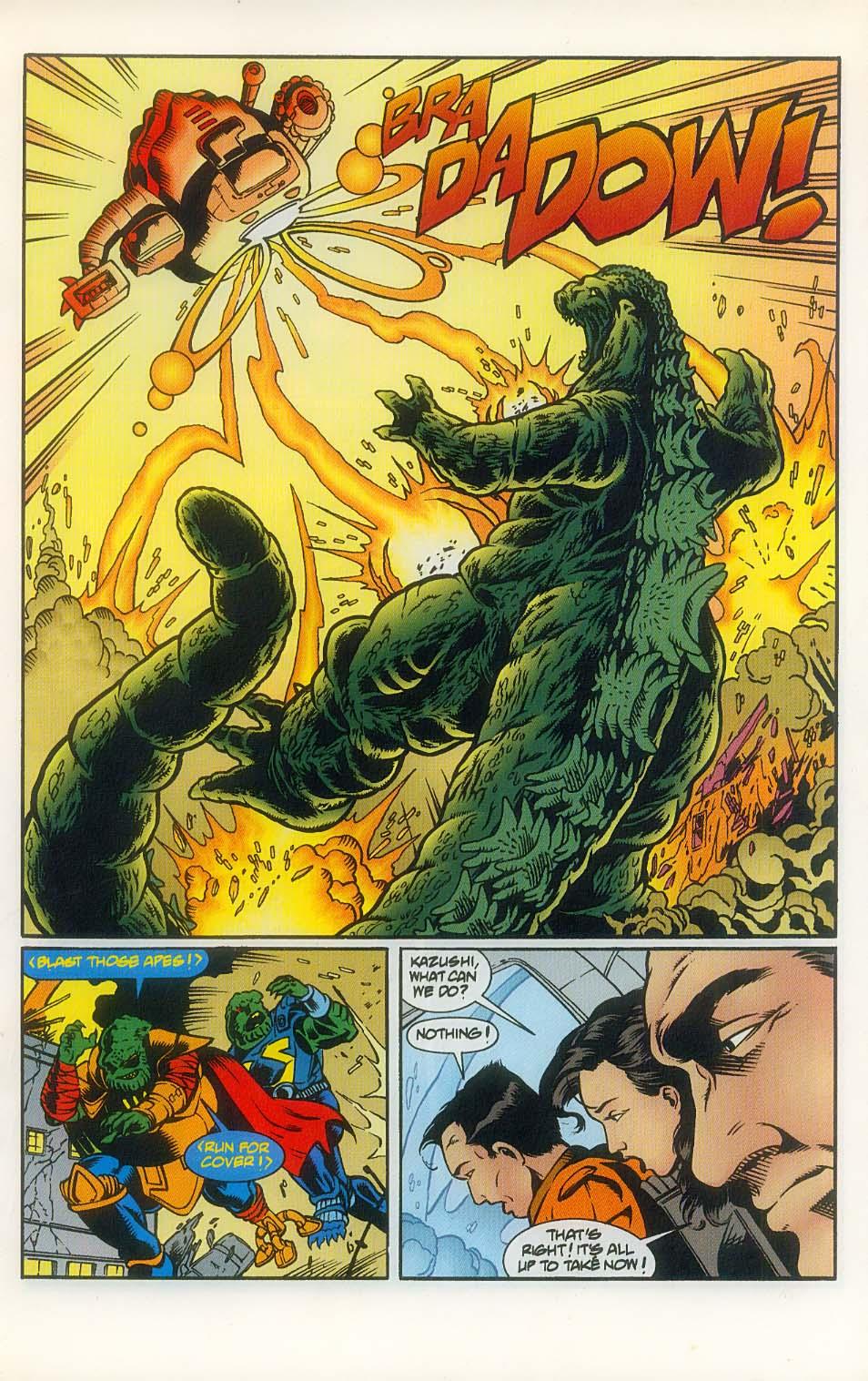 Godzilla (1995) Issue #8 #9 - English 17