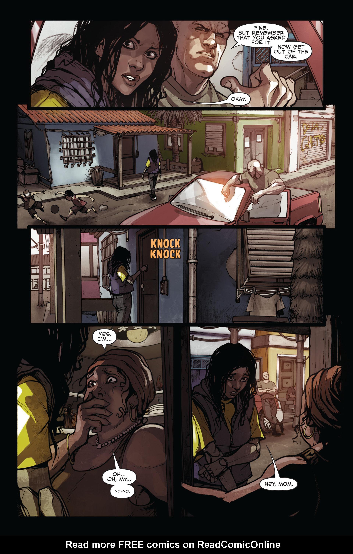 Read online Secret Warriors comic -  Issue #11 - 17