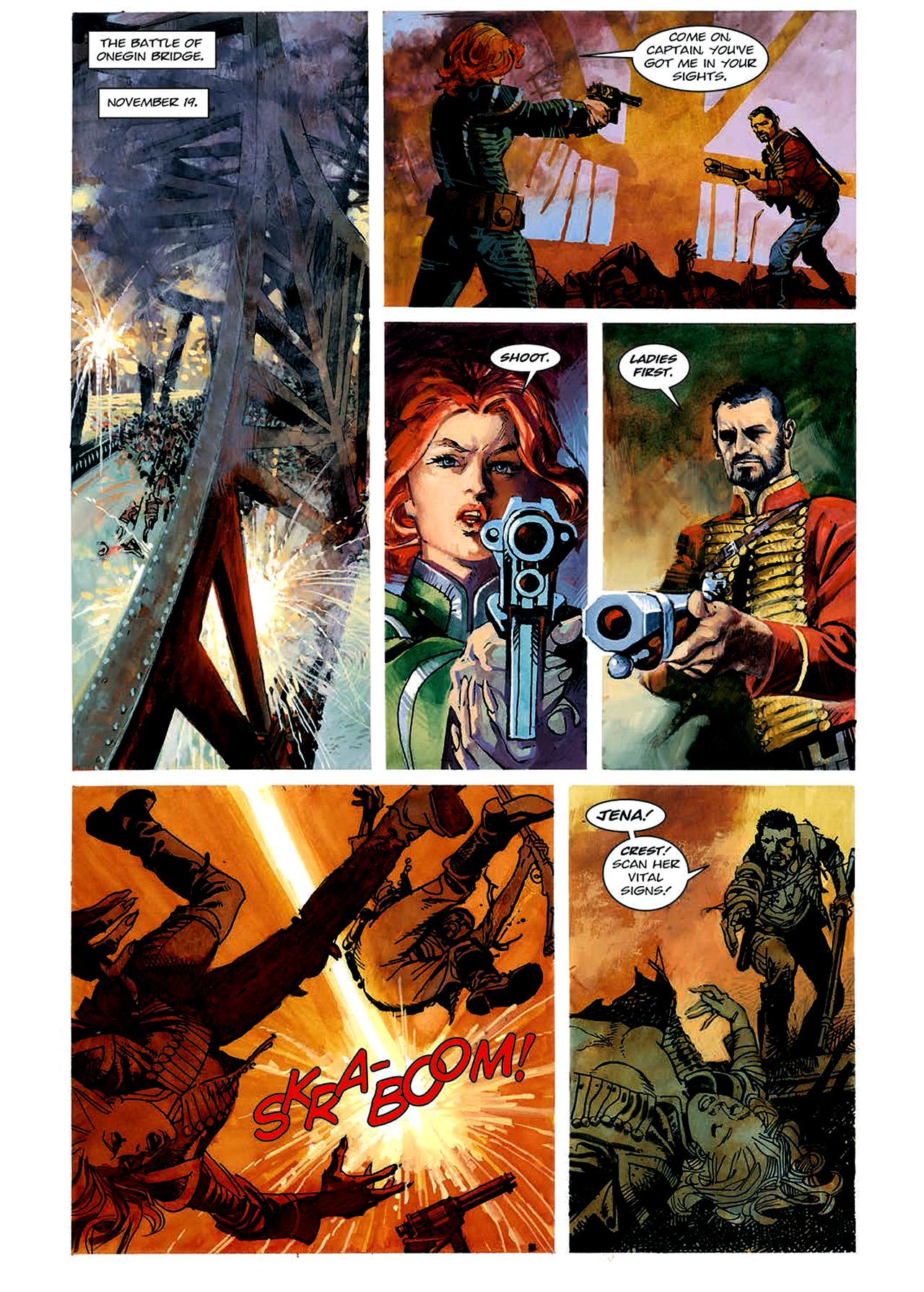 Read online Nikolai Dante comic -  Issue # TPB 4 - 77