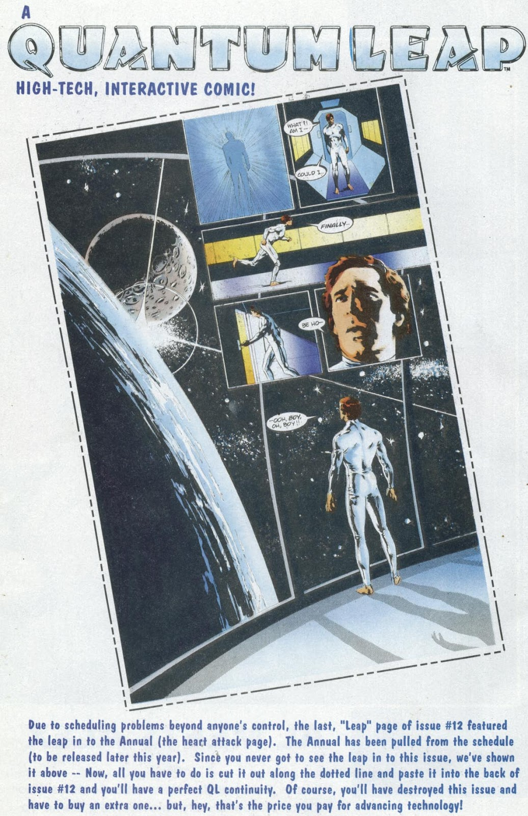 Read online Quantum Leap comic -  Issue #13 - 23