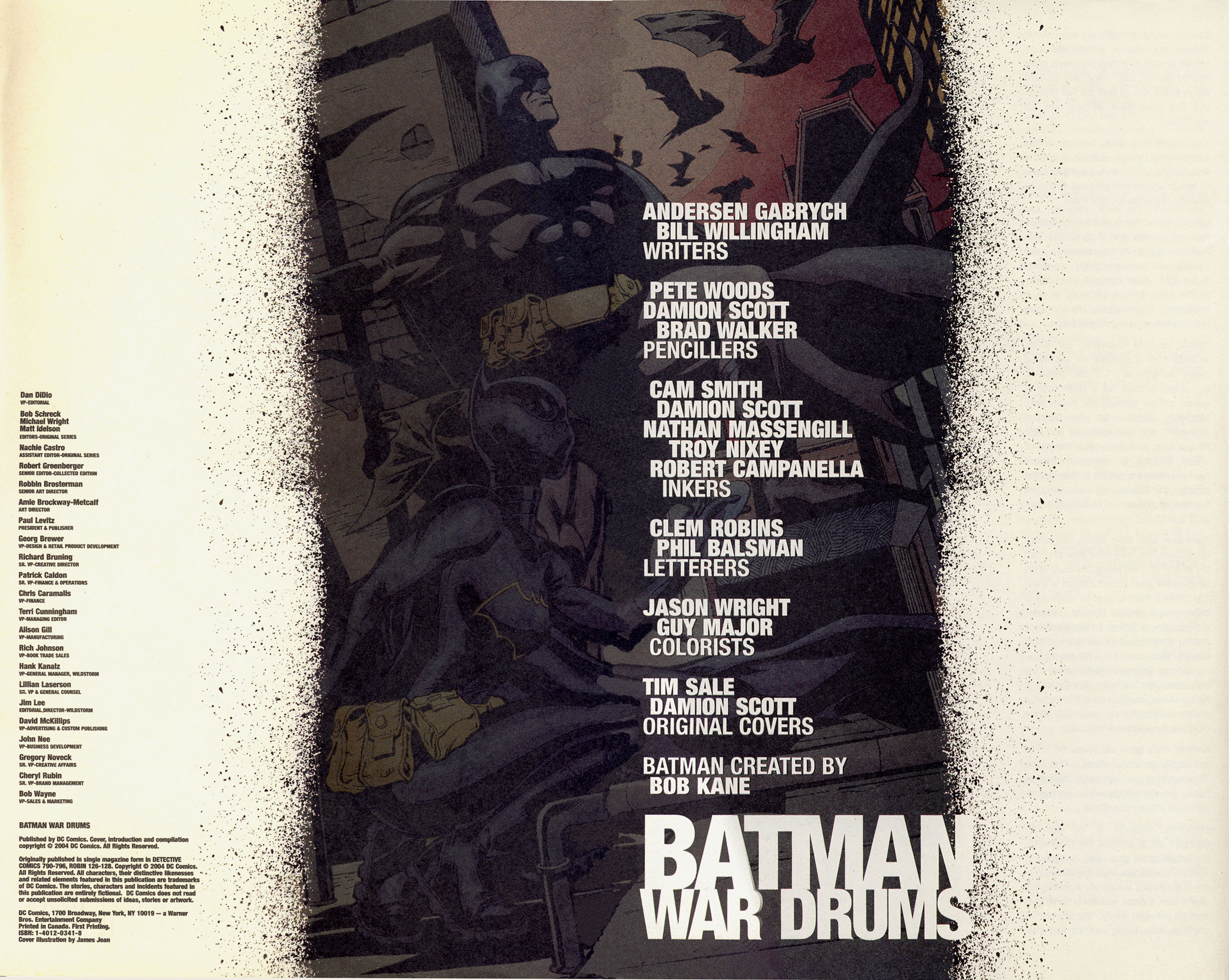 Read online Batman War Drums comic -  Issue # TPB - 5