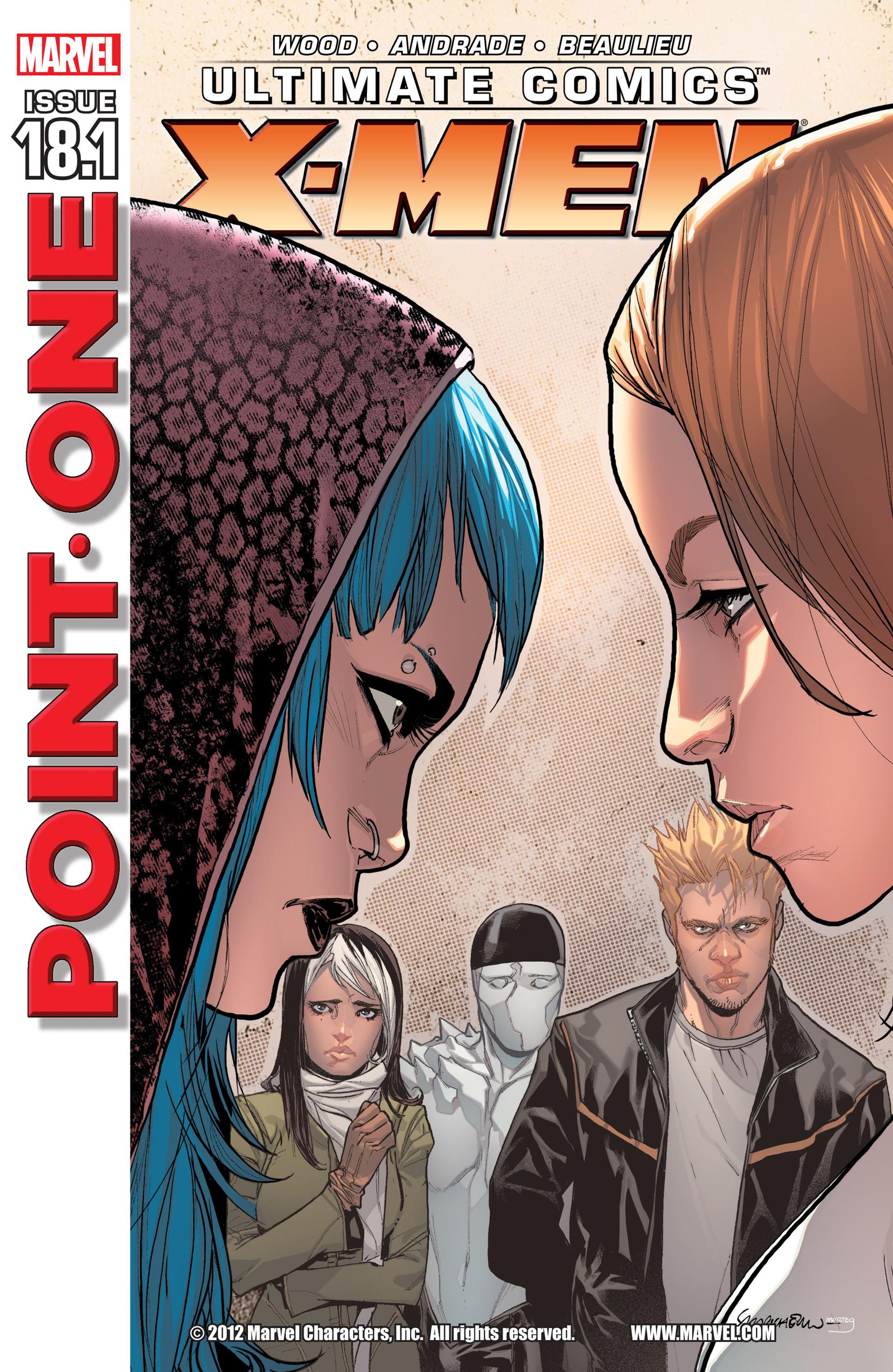 Read online Ultimate Comics X-Men comic -  Issue #18.1 - 1