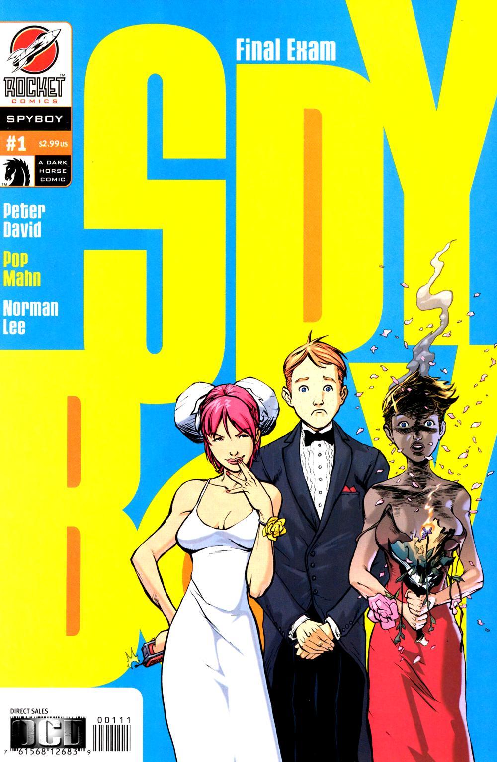 Read online SpyBoy: Final Exam comic -  Issue #1 - 1