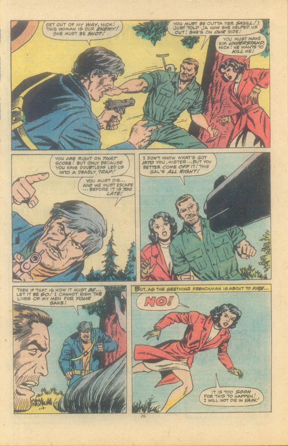 Read online Sgt. Fury comic -  Issue #150 - 28