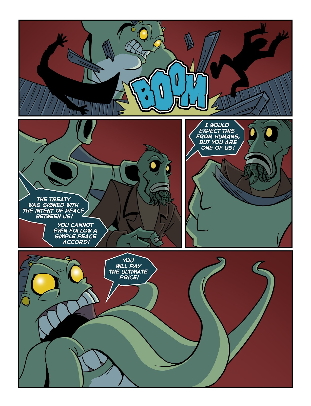 Read online The Haunter comic -  Issue #2 - 10