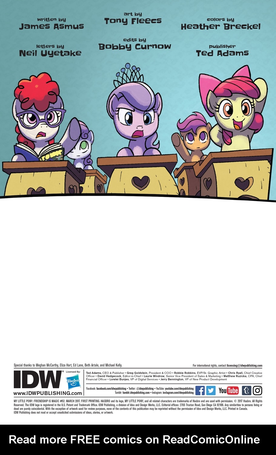 Read online My Little Pony: Friendship is Magic comic -  Issue #52 - 2