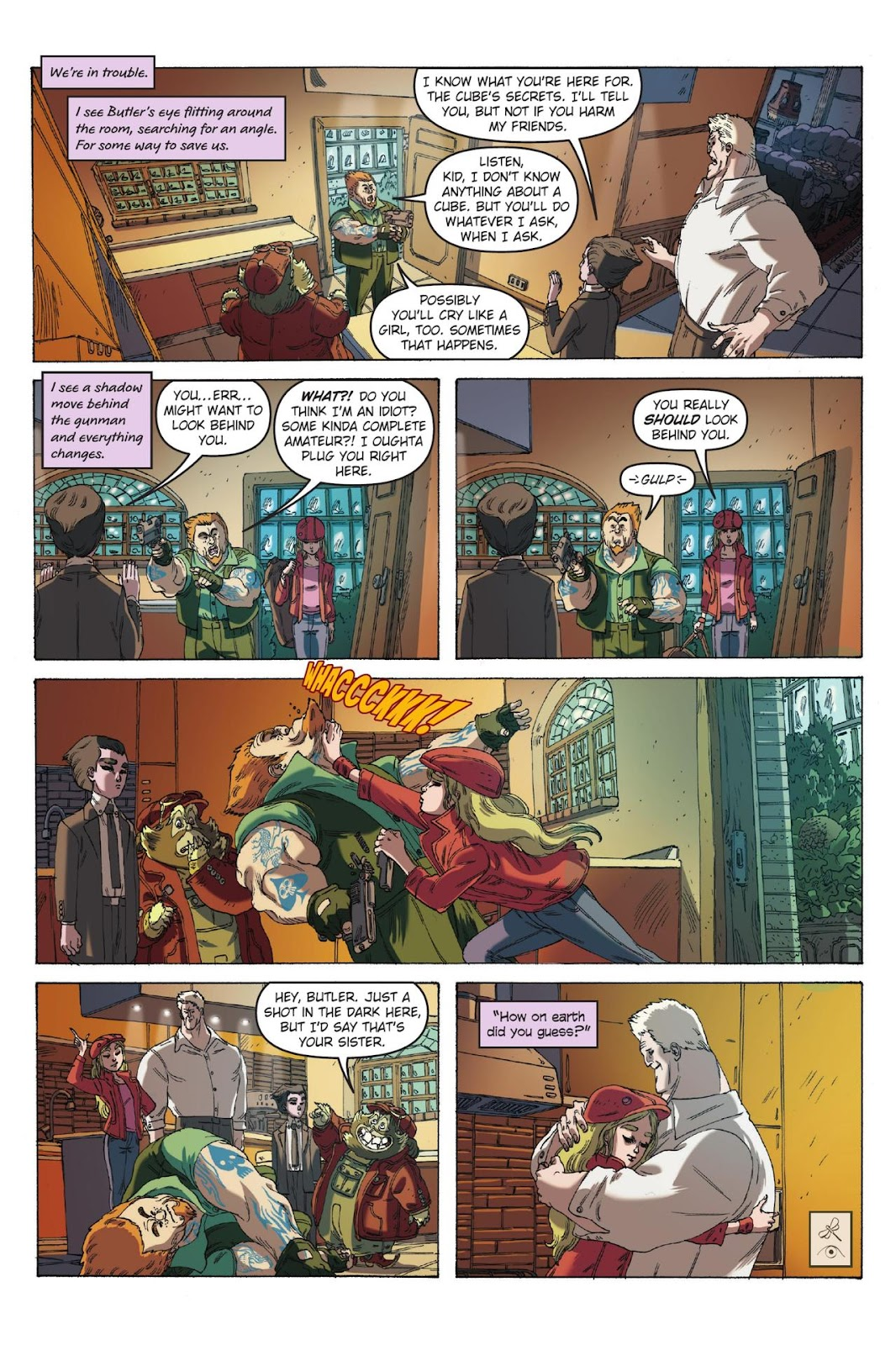 Artemis Fowl: The Eternity Code issue TPB - Page 62