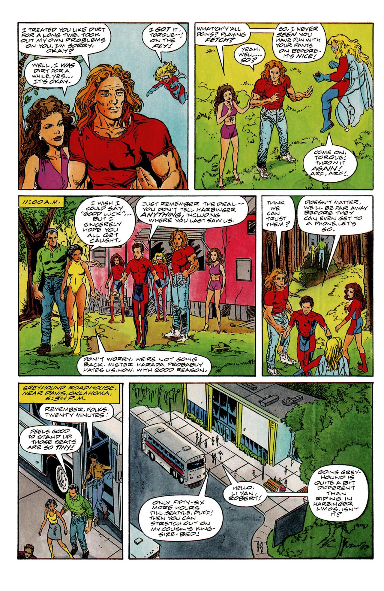 Read online Harbinger (1992) comic -  Issue #6 - 12