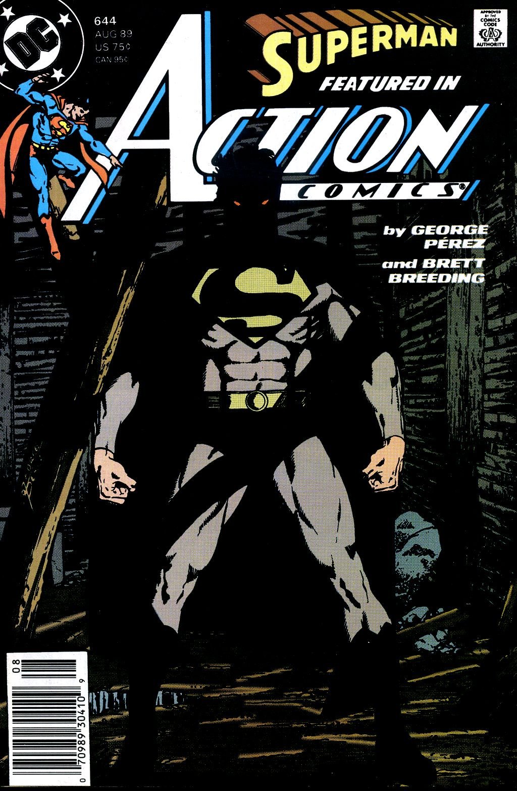 Read online Action Comics (1938) comic -  Issue #644 - 1