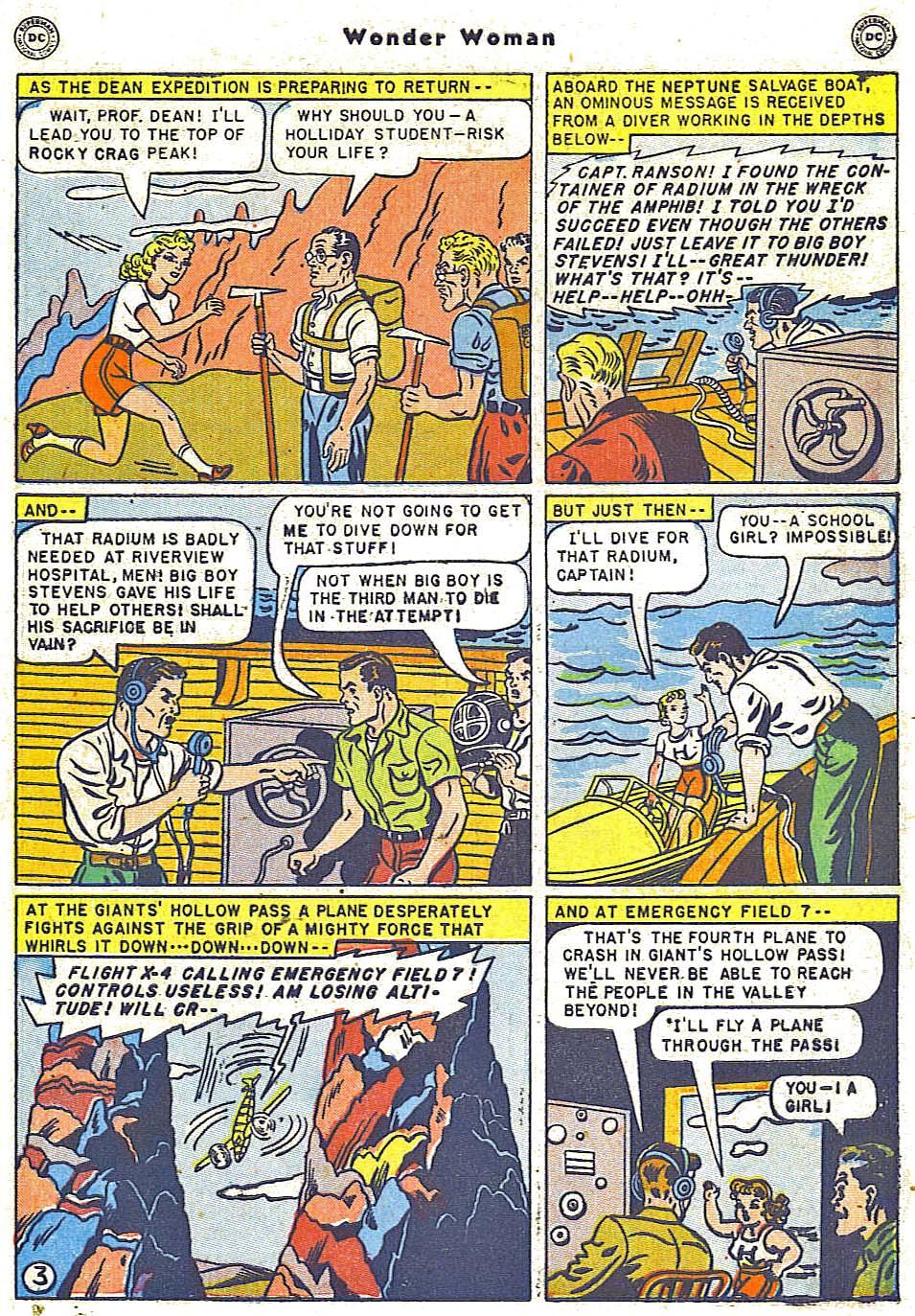 Read online Wonder Woman (1942) comic -  Issue #38 - 39