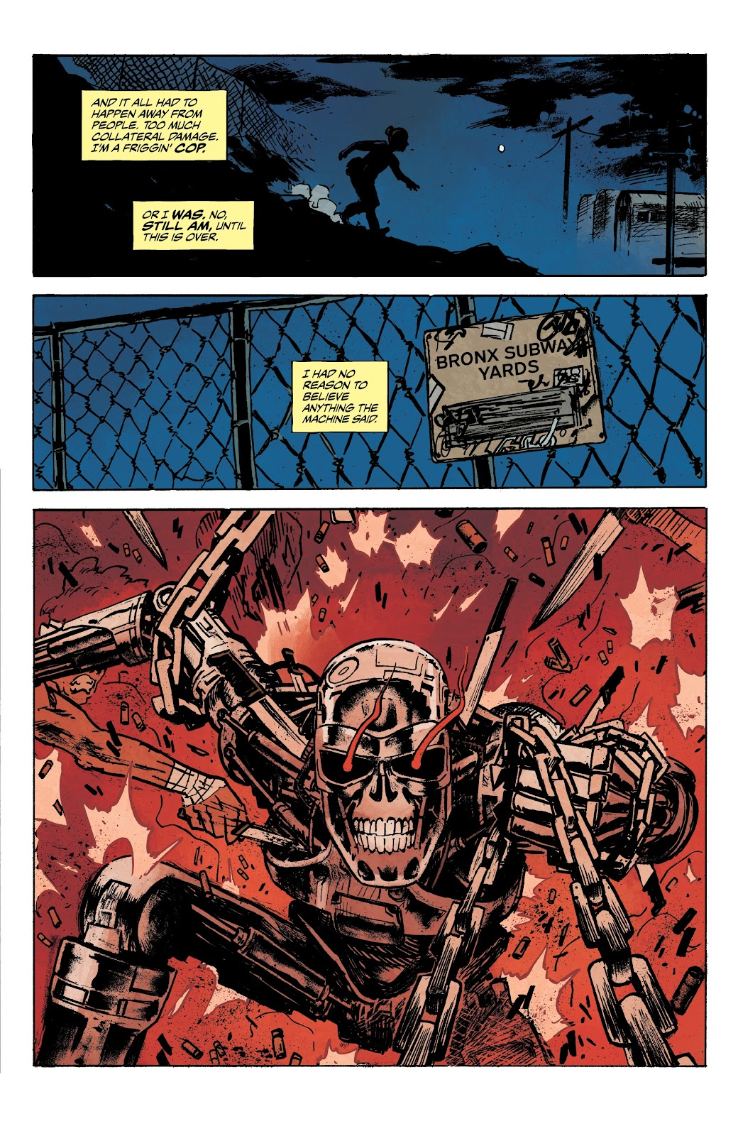 Read online The Terminator: Sector War comic -  Issue #3 - 20