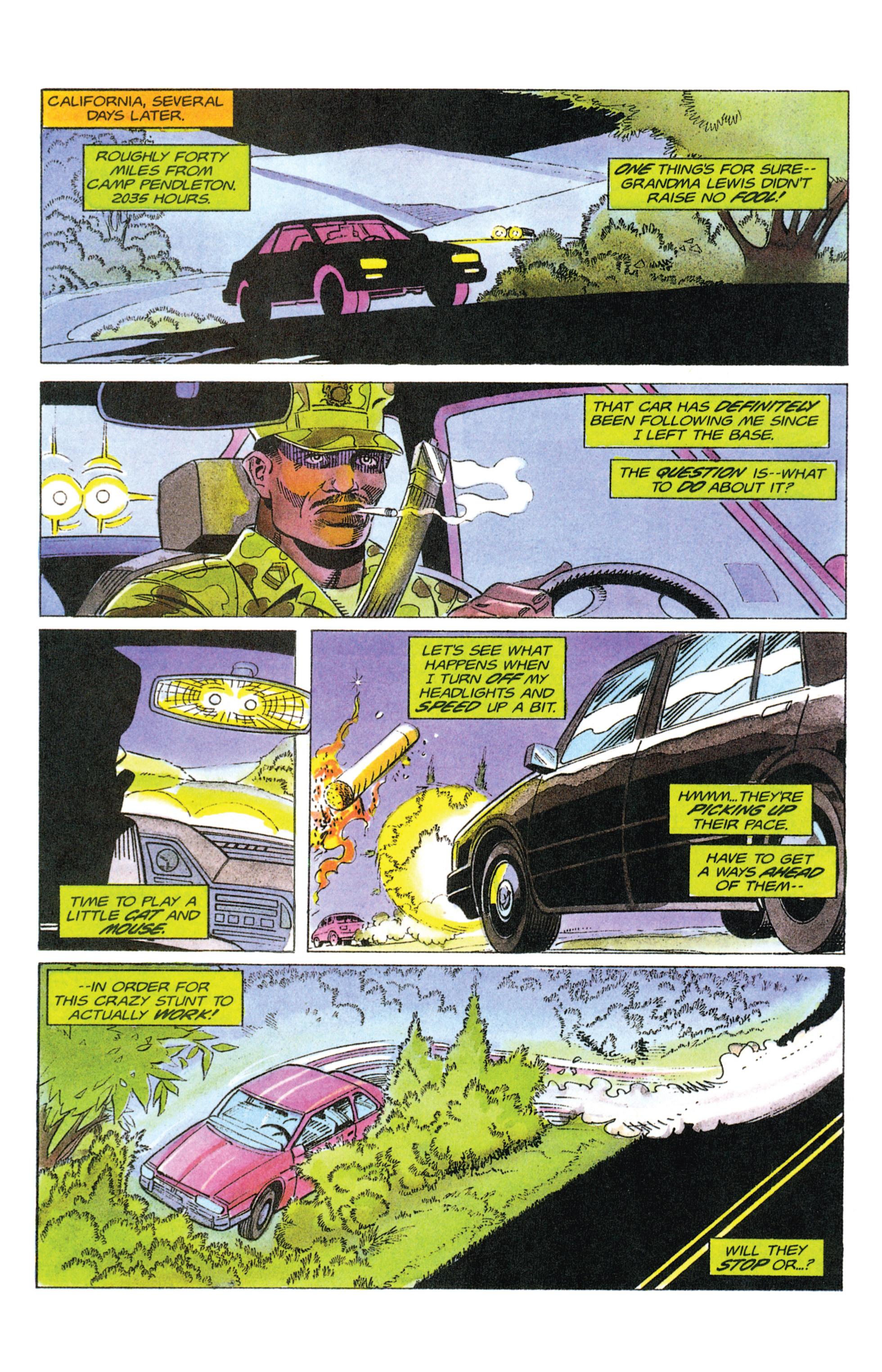 Read online Armorines comic -  Issue #12 - 4