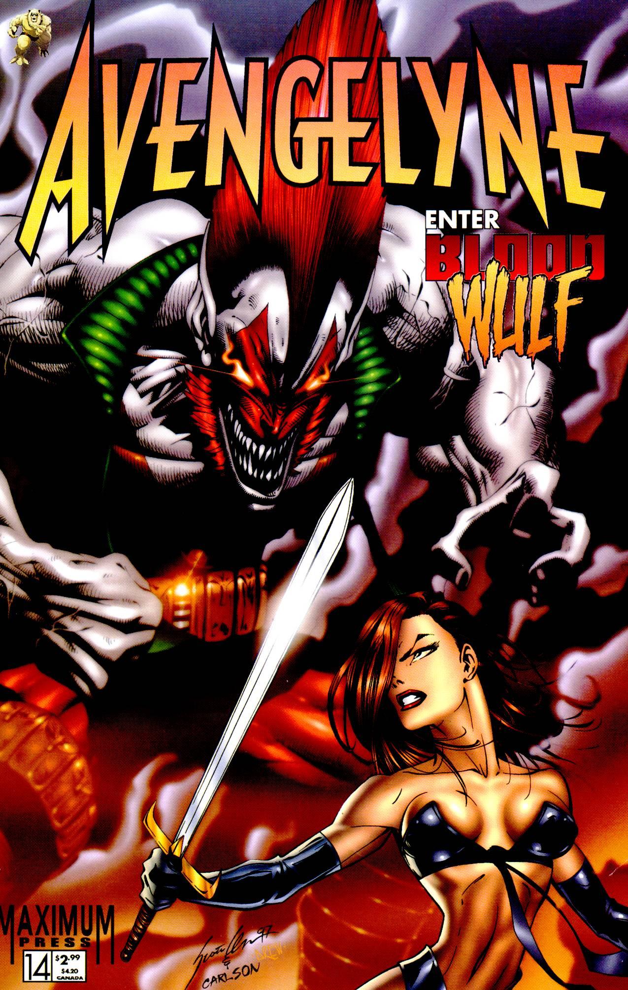 Read online Avengelyne (1996) comic -  Issue #14 - 1