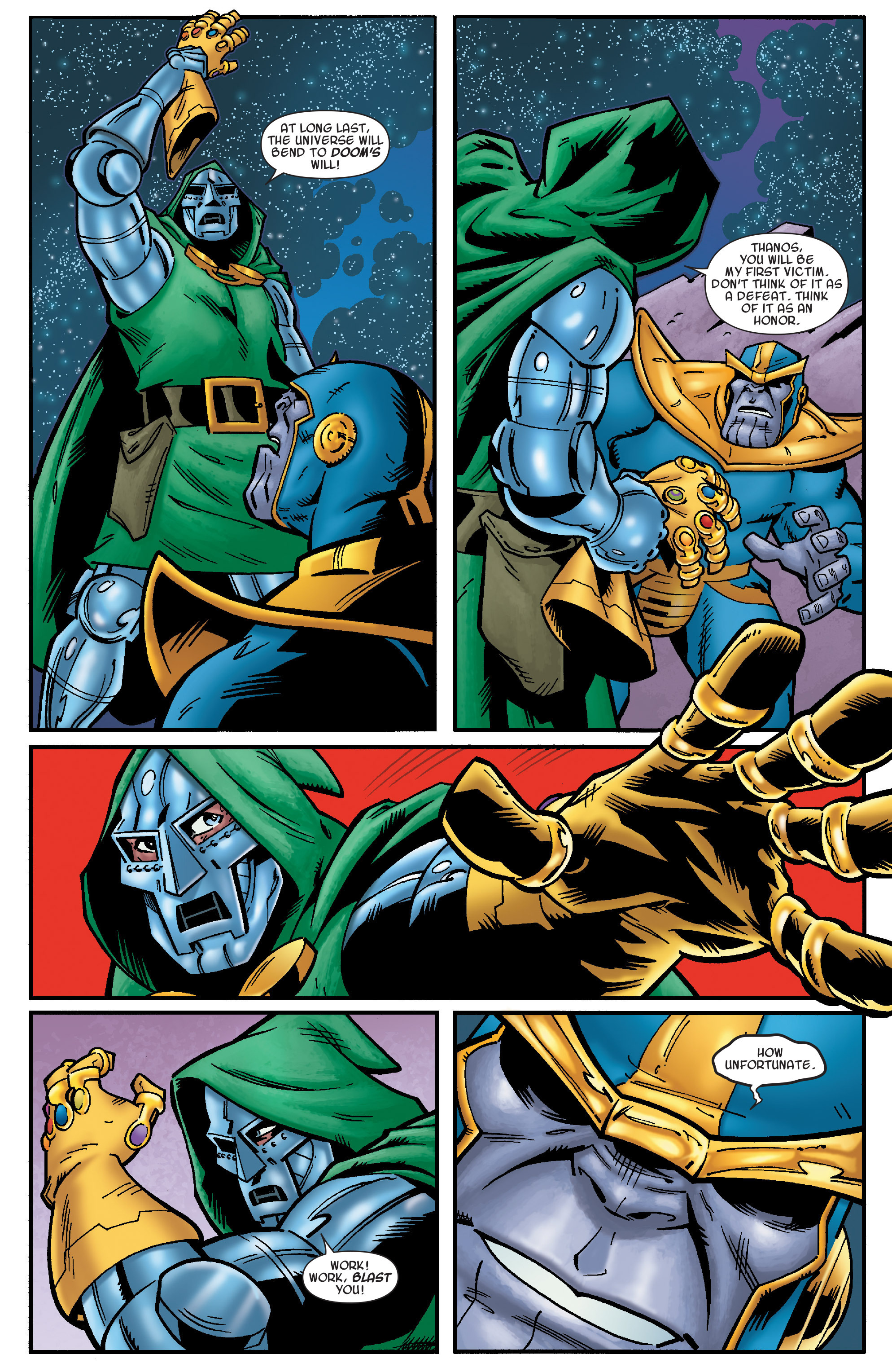 Read online Avengers & the Infinity Gauntlet comic -  Issue #4 - 13