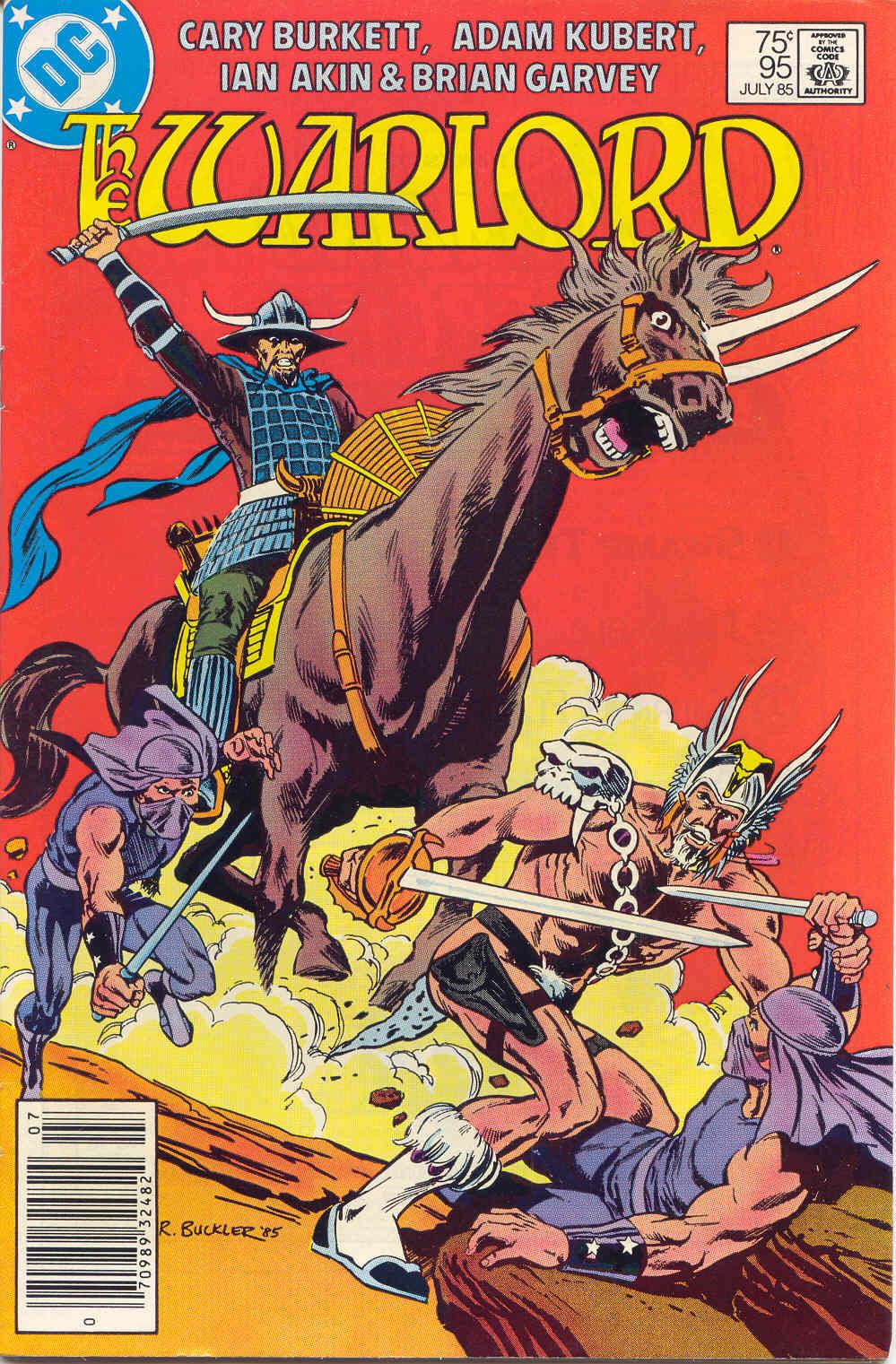 Warlord (1976) 95 Page 1