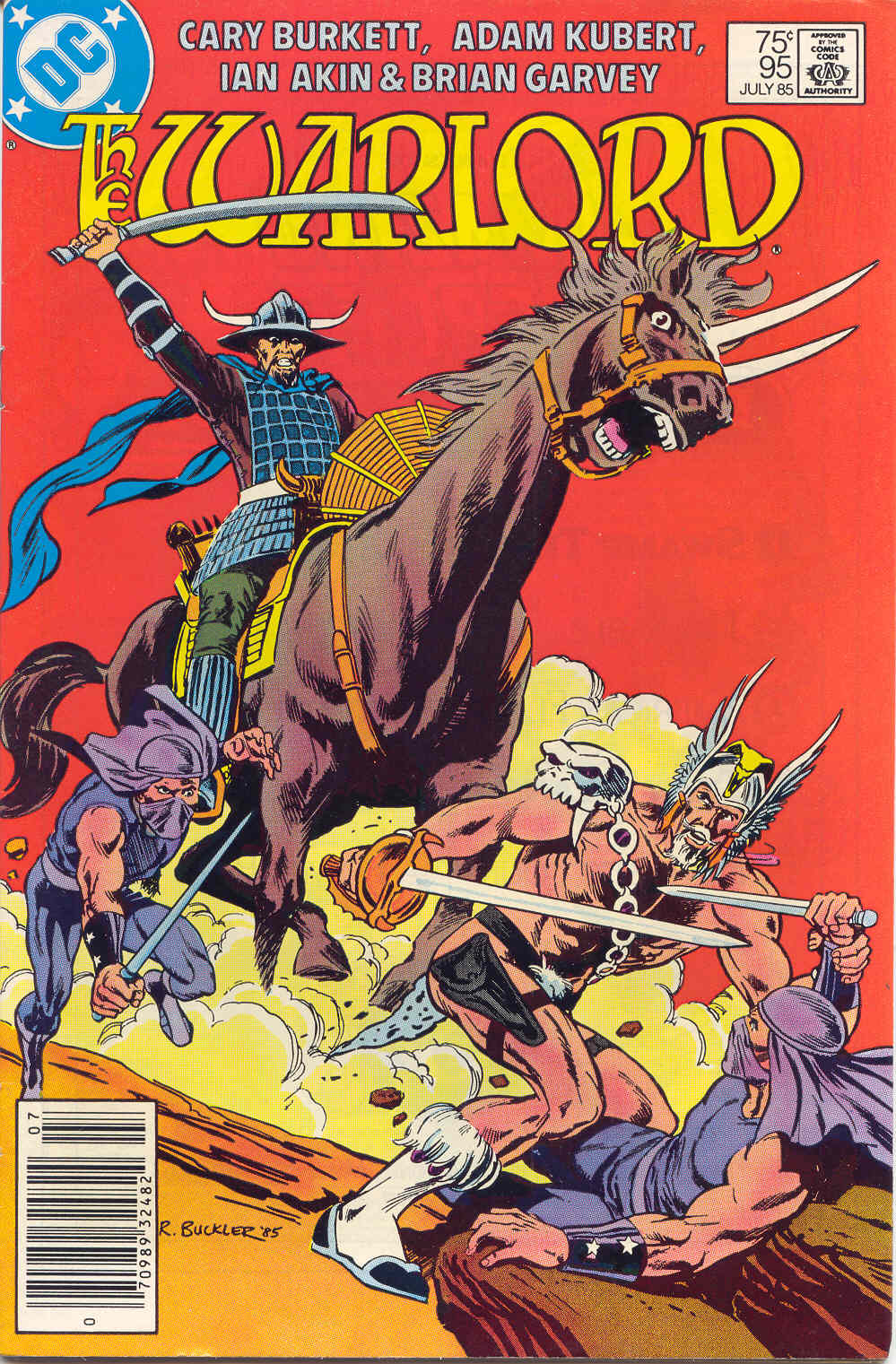 Warlord (1976) issue 95 - Page 1